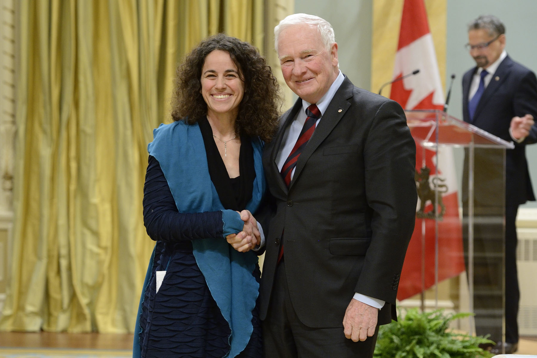 Dr. Elena Bennett (McGill University)received the NSERC E.W.R. Steacie Memorial Fellowships.