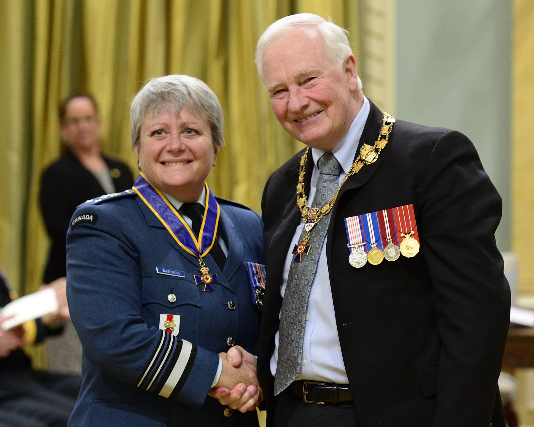 Lieutenant-General Christine Theresa Whitecross, C.M.M., M.S.M., C.D.