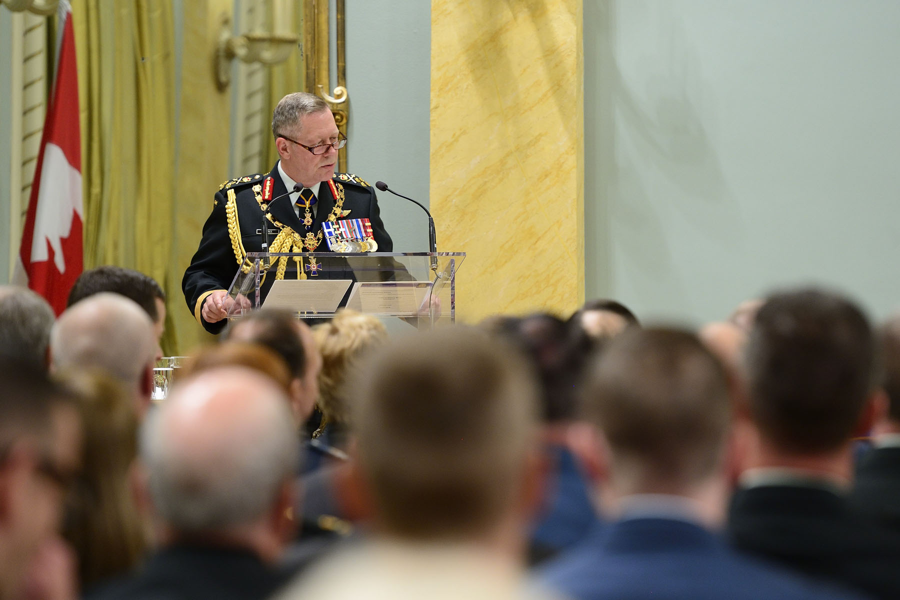 General Jonathan Vance, Chief of the Defence Staff.