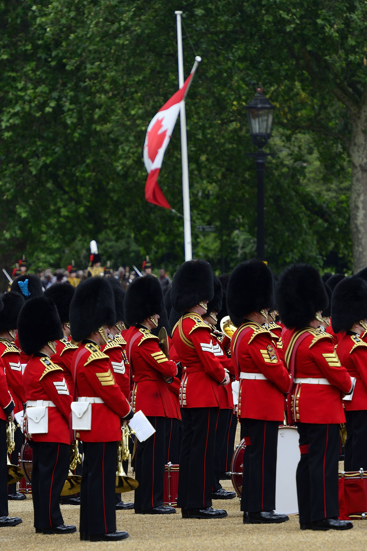 The Ceremony of Trooping the Colour, also known as the Queen's Birthday Parade, celebrates the Sovereign's birthday.