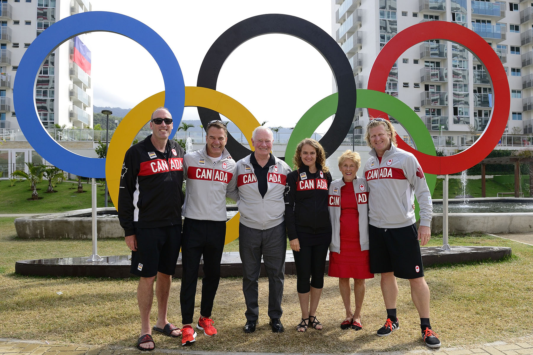 Their Excellencies had the opportunity to interact with representatives from the Canadian Olympic Committee.