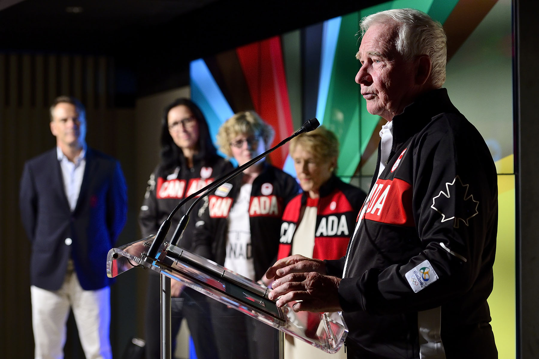 """It's particularly wonderful to see how this place, Canada Olympic House, will be a home away from home, a gathering place for athletes, and their family and friends,"" said the governor general.  ""Your dedication to excellence and your great generosity have strengthened Canada's Olympic spirit and helped to make our country a great sporting nation."""