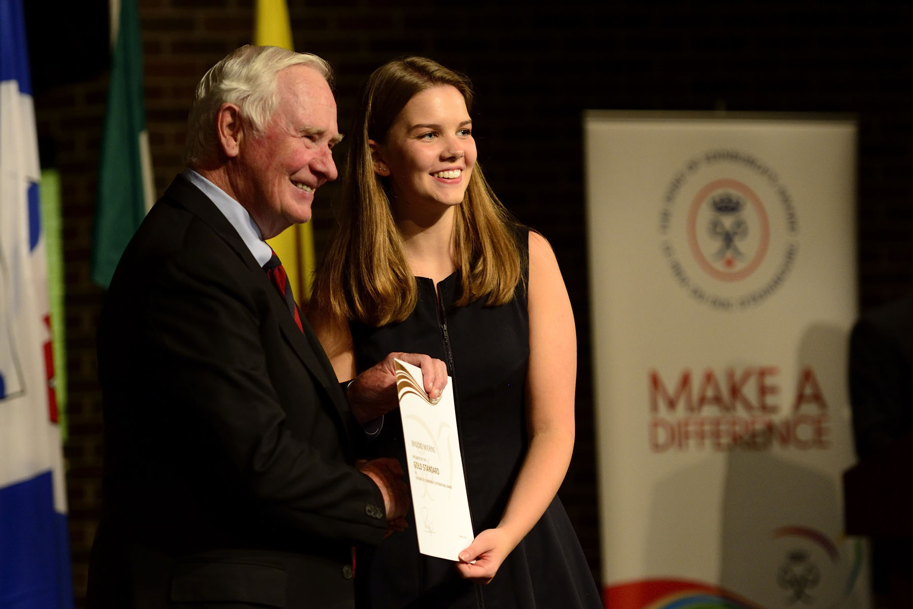 The Governor General presented The Duke of Edinburgh's Gold Award to more than 50 young people from across Canada.
