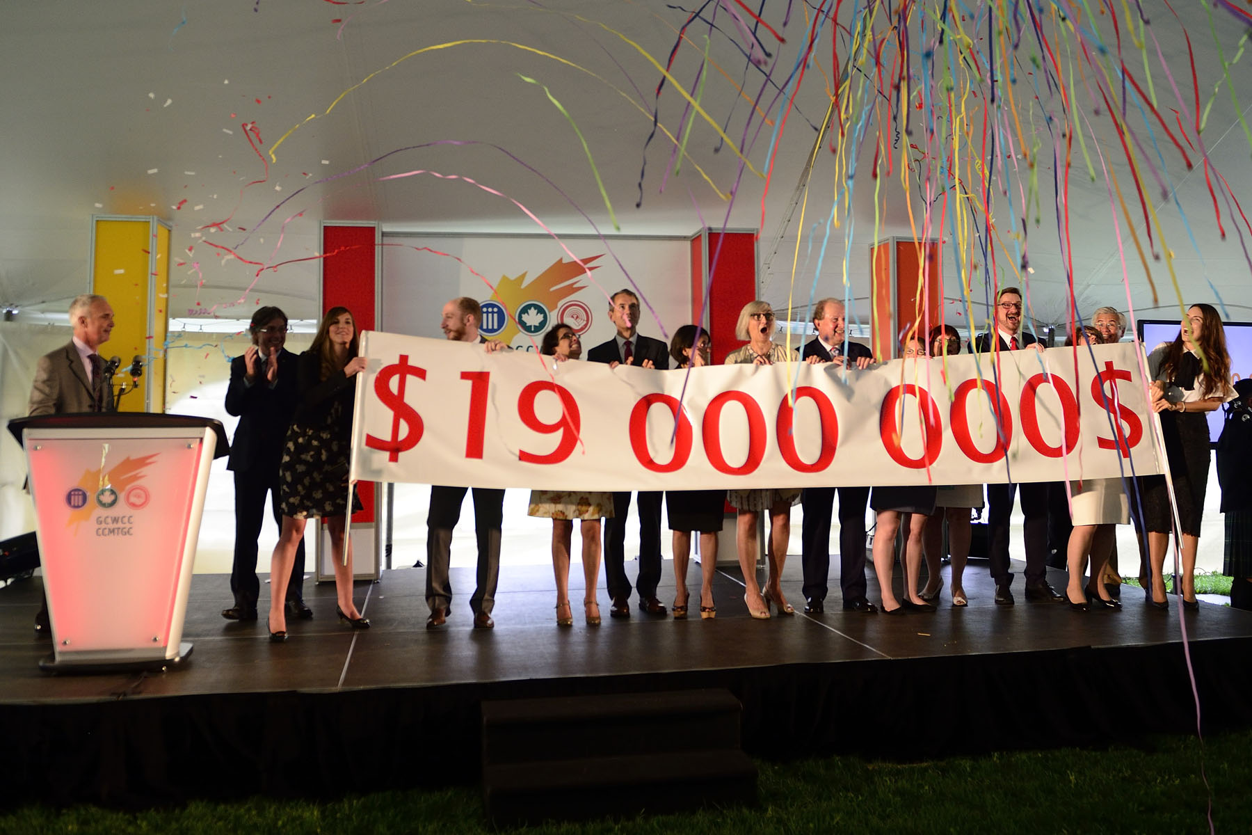 This year's goal for the National Capital Region is 19 millions dollars. The Charitable Campaign is managed by the United Way Ottawa and Centraide Outaouais on behalf of the Treasury Board of Canada Secretariat. In the National Capital Region, federal employees have contributed to annual fundraising campaigns since 1945.