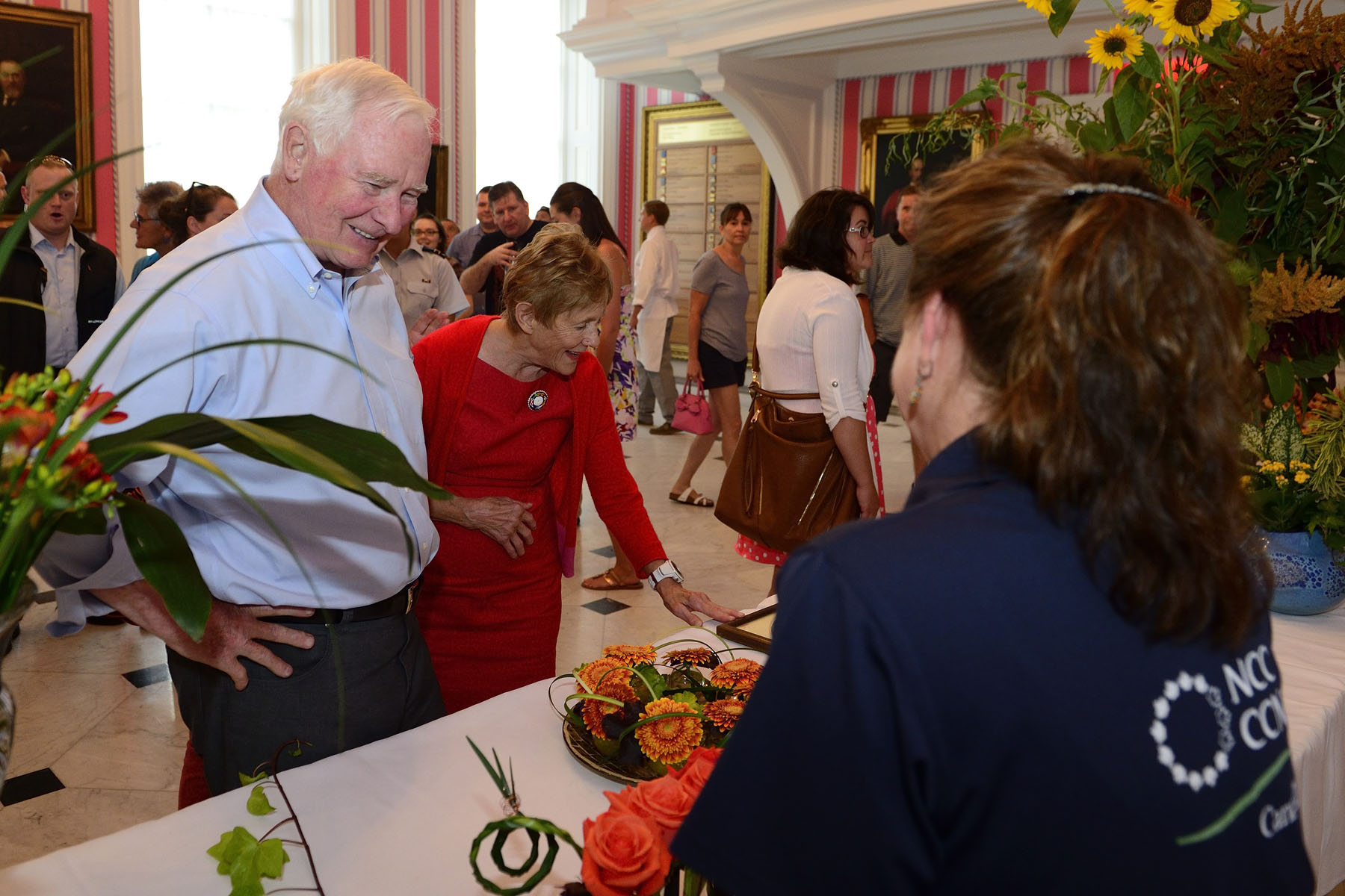 Their Excellencies the Right Honourable David Johnston, Governor General of Canada, and Mrs. Sharon Johnston hosted the 4th edition of Savour Fall at Rideau Hall on September 10, 2016.