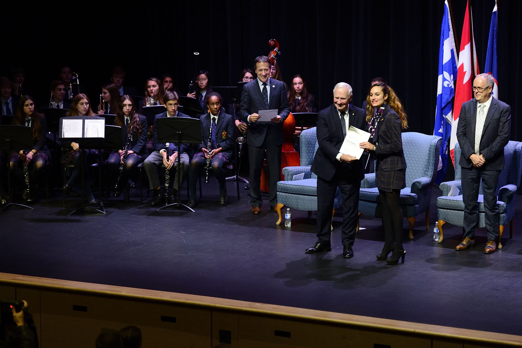 The Governor General presented The Duke of Edinburgh's Gold Award to more than 60 young people from across Canada.