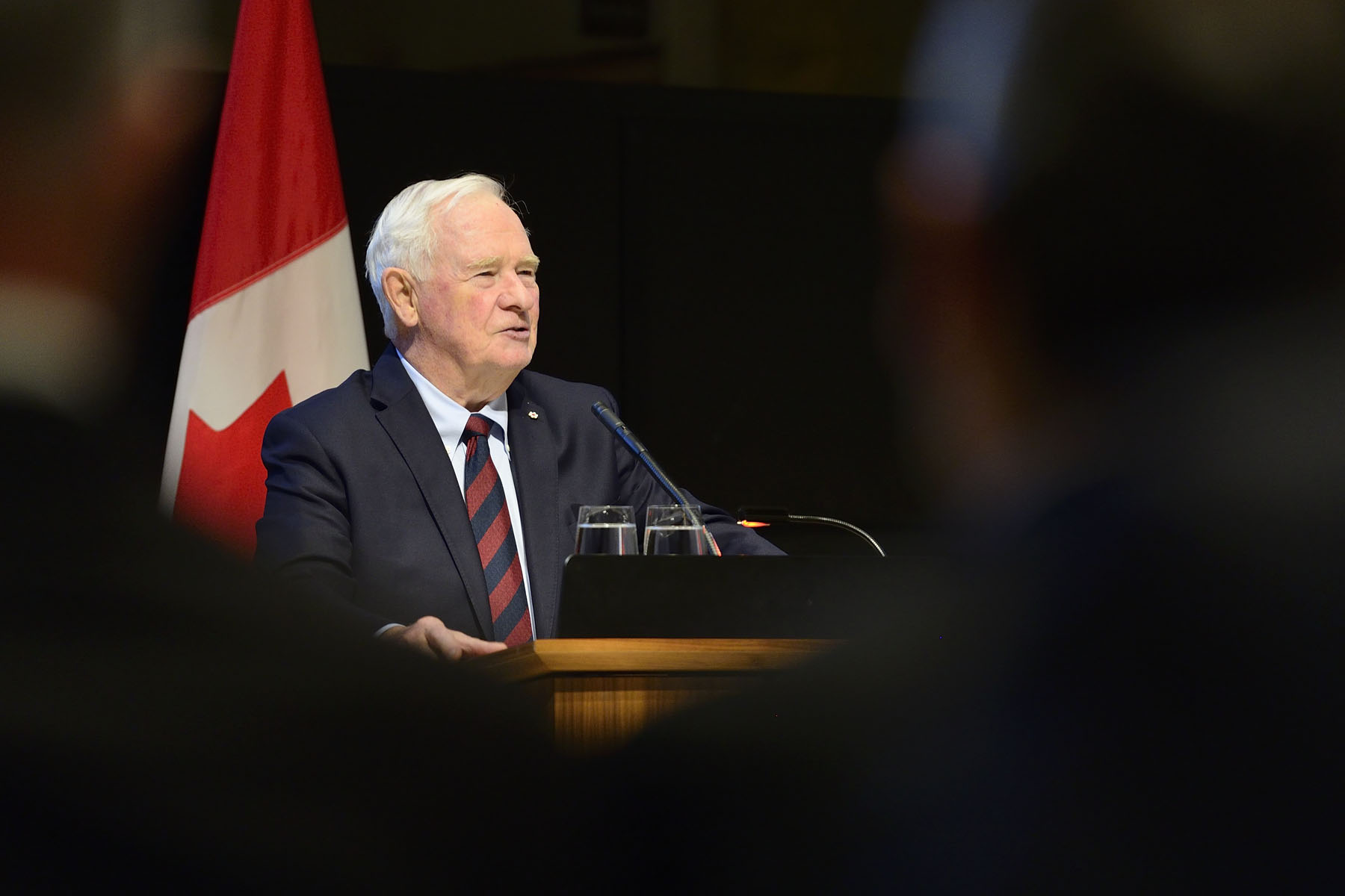 """I've learned so much from you and your colleagues—about how to be an effective, compassionate, smart public servant,"" said the Governor General. ""You've made me a better Canadian through your service, just as you make Canada better. I'm grateful to all of you, and I thank you on behalf of all Canadians. Congratulations on this well-deserved honour."""