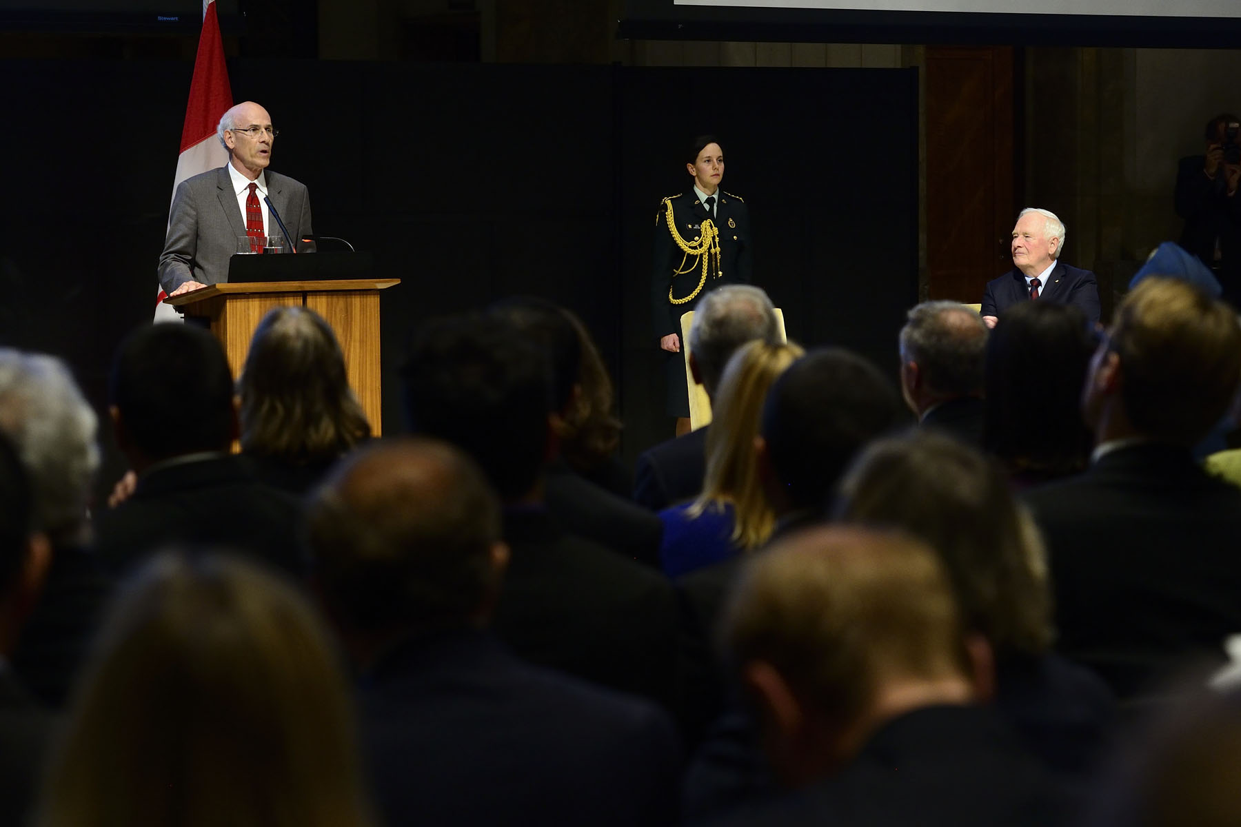 Mr. Michael Wernick, Clerk of the Privy Council, Secretary to the Cabinet and Head of the Public Service thanked public servants for their hard work and dedication.