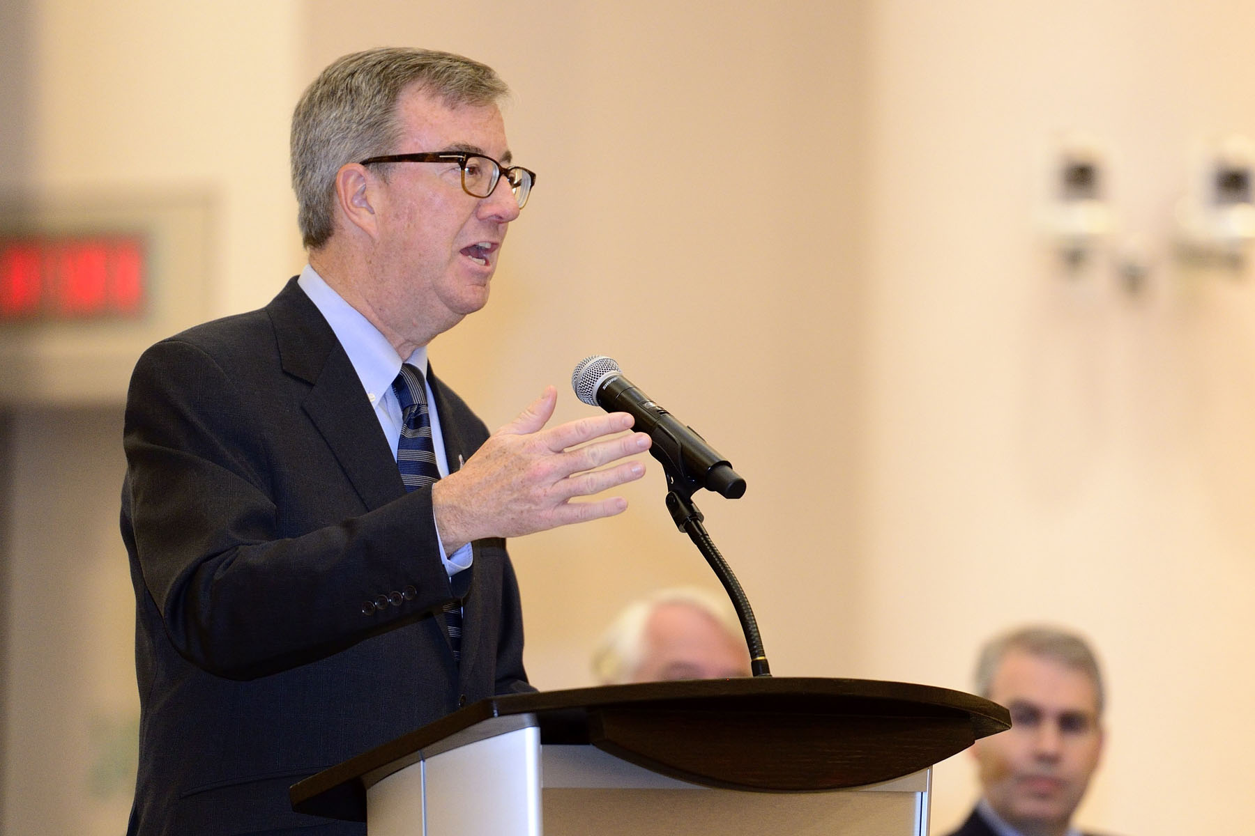 Mayor Jim Watson also said a few words.