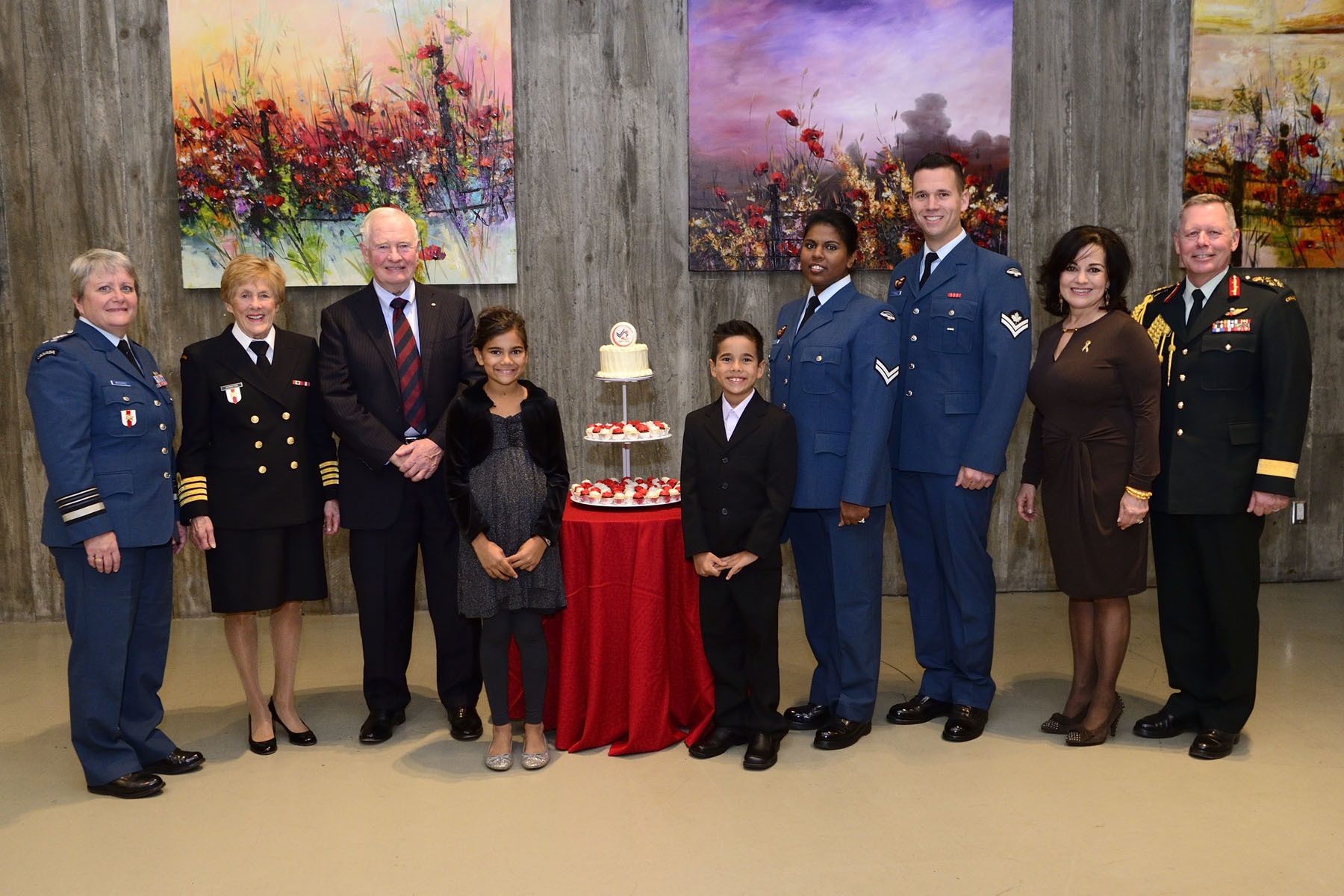 Her Excellency Sharon Johnston attended an evening in honour of the 25th anniversary of the Military Family Services Program. She was joined by her husband, His Excellency the Right Honourable David Johnston, Governor General and Commander-in-Chief of Canada. The event was held at the Canadian War Museum, in Ottawa, on October 24, 2016.