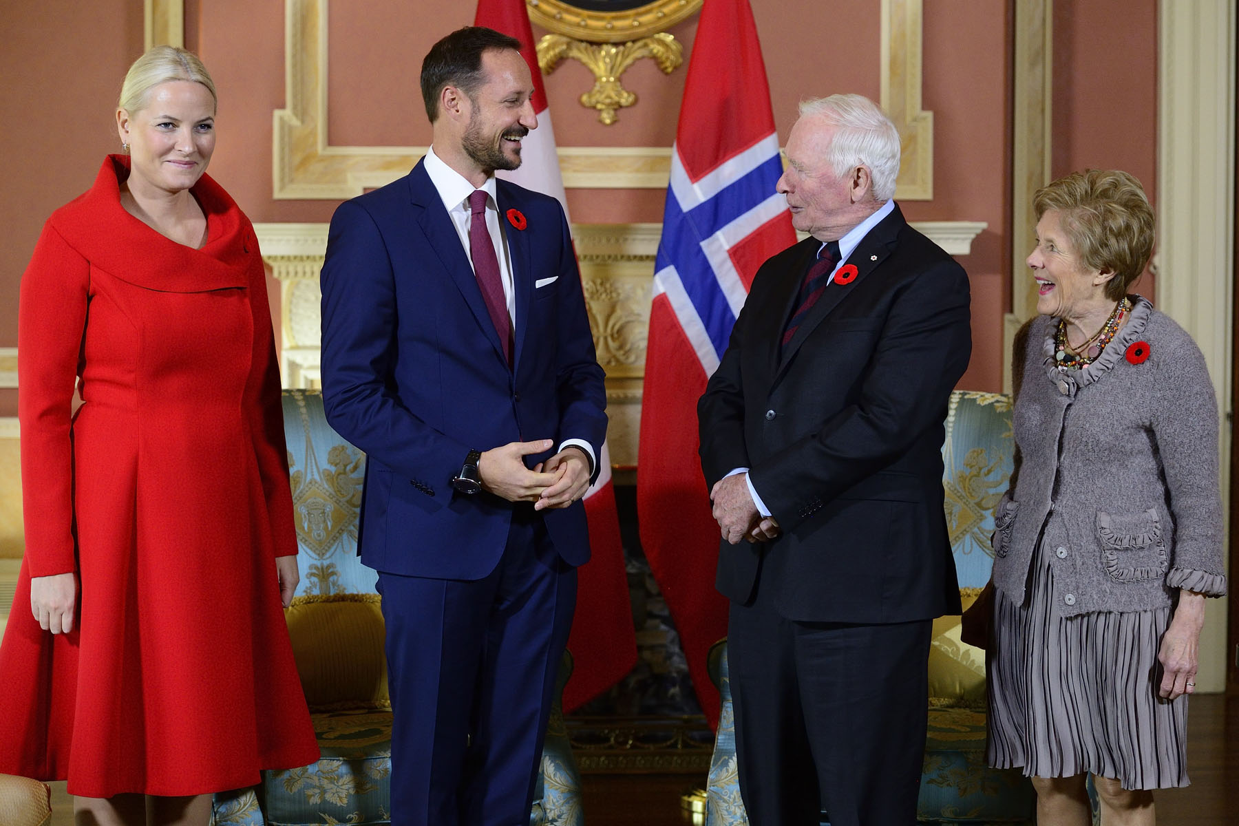 Afterwards, Their Excellencies met with Their Royal Highnesses to discuss Canada-Norway relations.