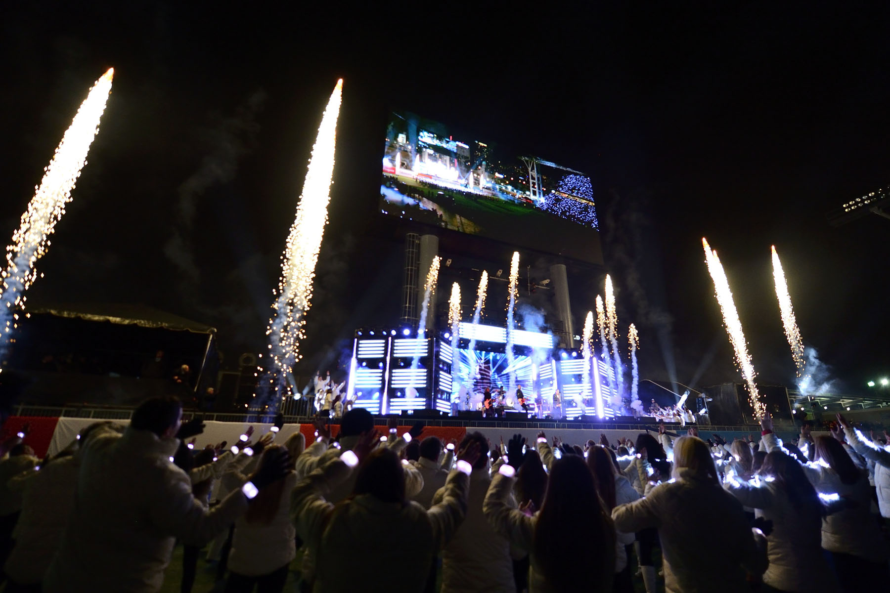 American pop rock band, OneRepublic headlined the halftime show at the 104th Grey Cup.