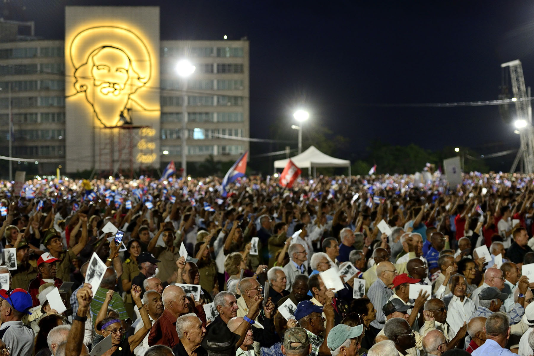 The Plaza de la Revolución is notable as being the location where many political rallies are held. Fidel Castro had on several occasions used this site to address Cubans.