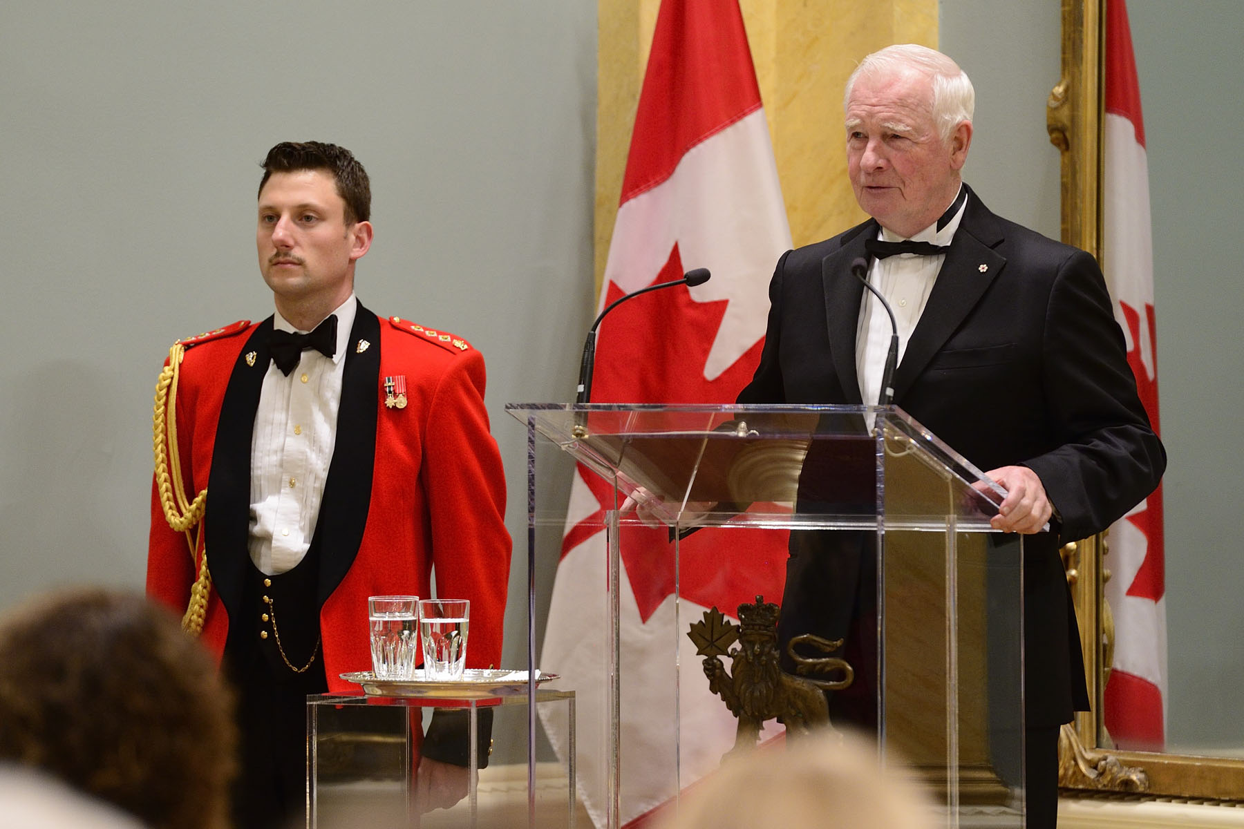 """You entertain us, you enlighten us and you challenge us to expand our minds and our hearts. You make us cry, laugh and think. It's amazing what a great book can do,"" said the Governor General."