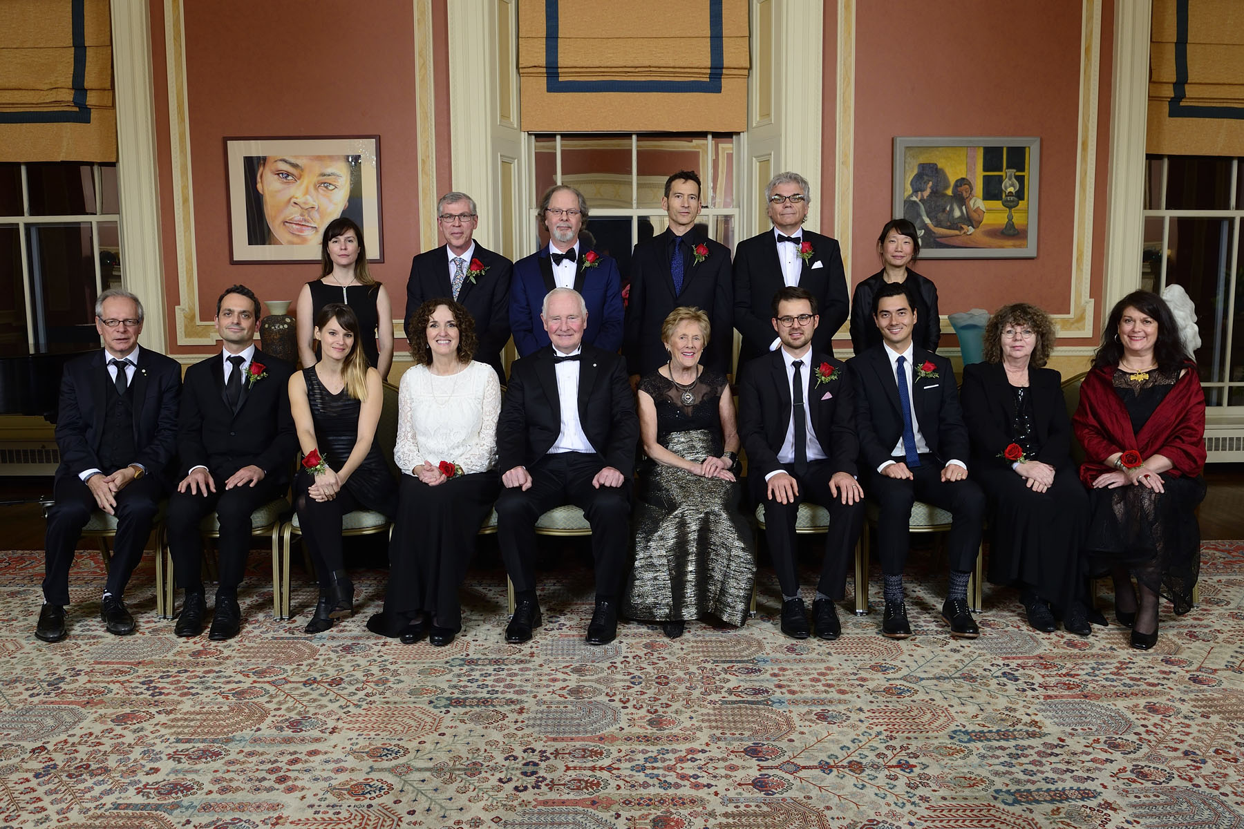 2016 laureates of the Governor General's Literary Awards.
