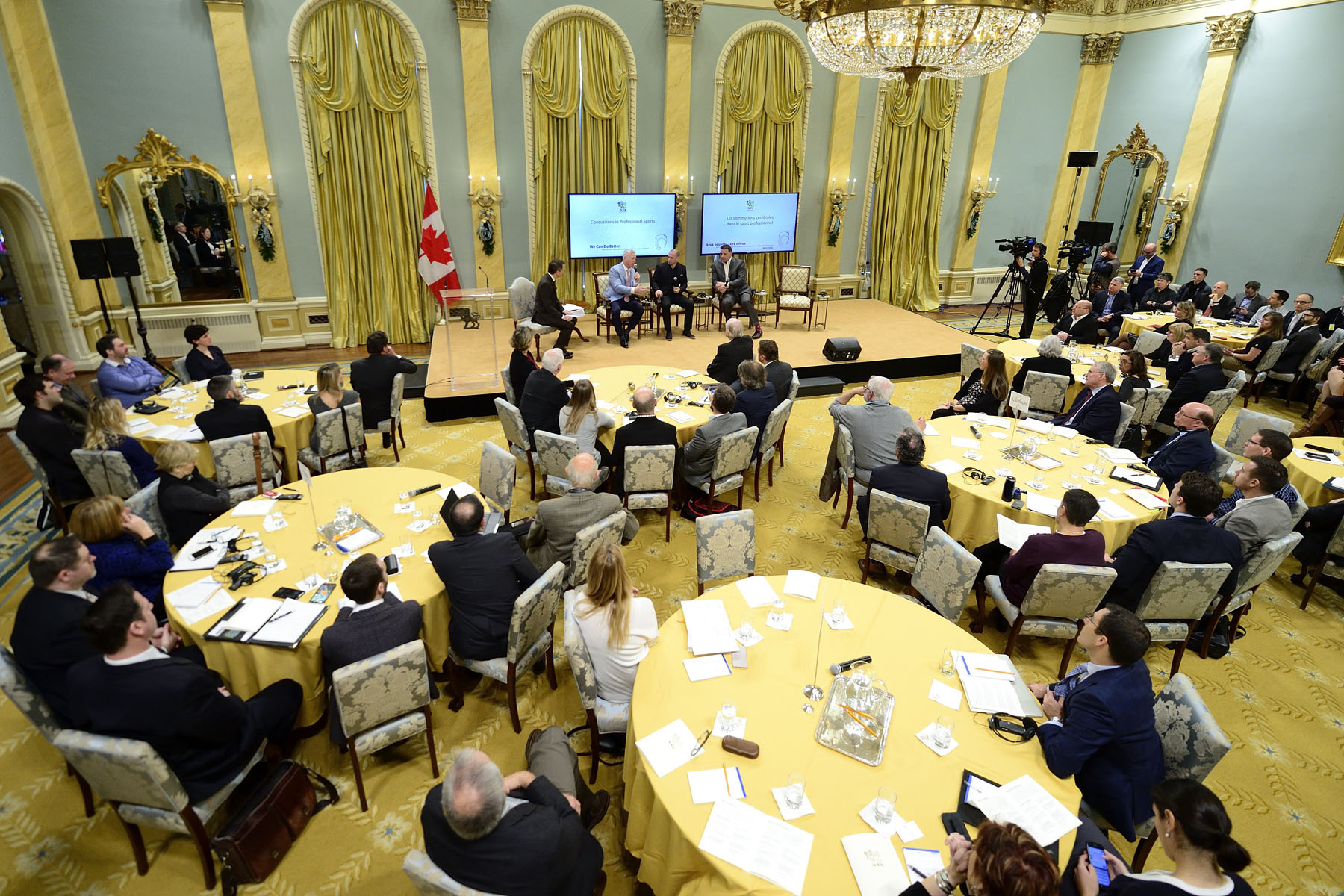 The conference provided participants with the opportunity to share experiences and best practices in an effort to contribute to the work being done to help reduce the incidence of concussions, to keep sport safe, and to encourage young people to pursue the sport or physical activity they love without hesitation.