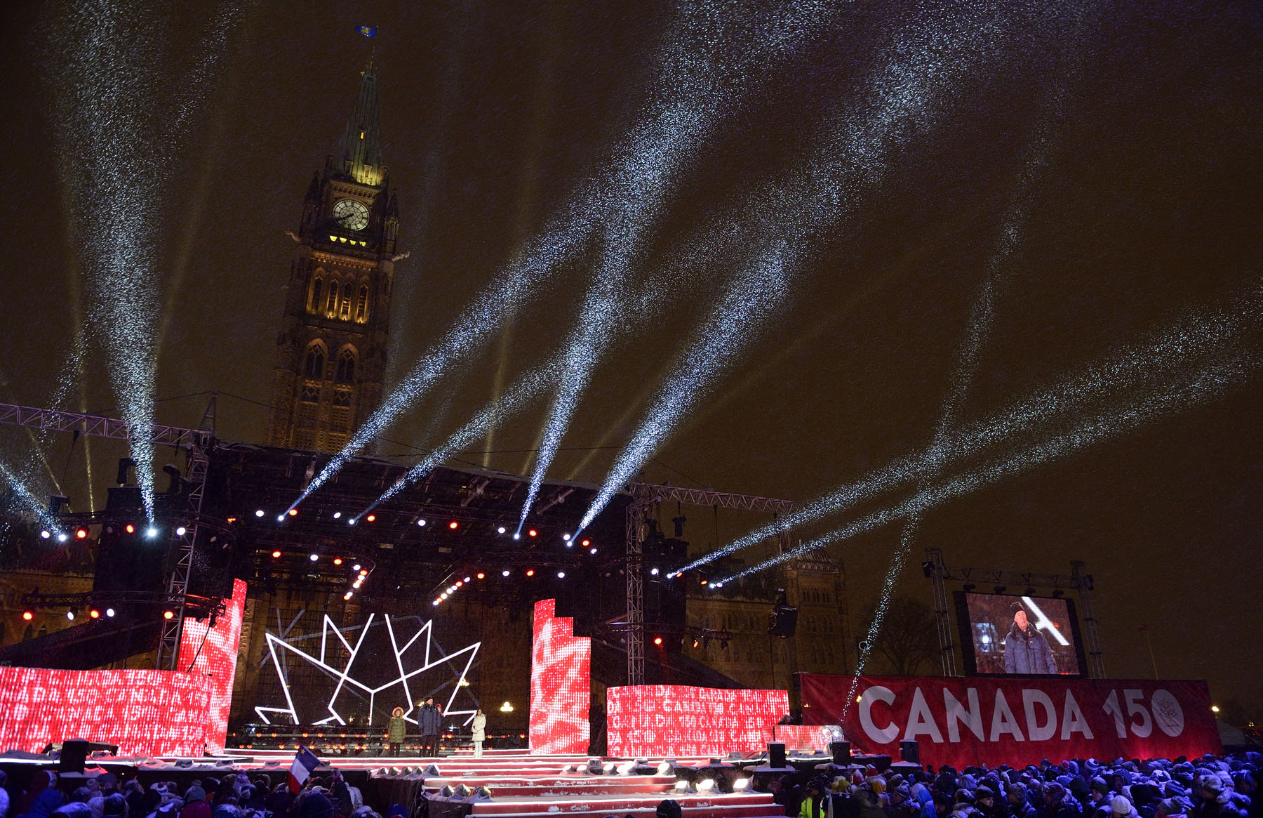 "New Year's Eve in Canada: ""Road to Confederation,"" a National Celebration was organized by the Department of Canadian Heritage, in collaboration with Ottawa 2017."