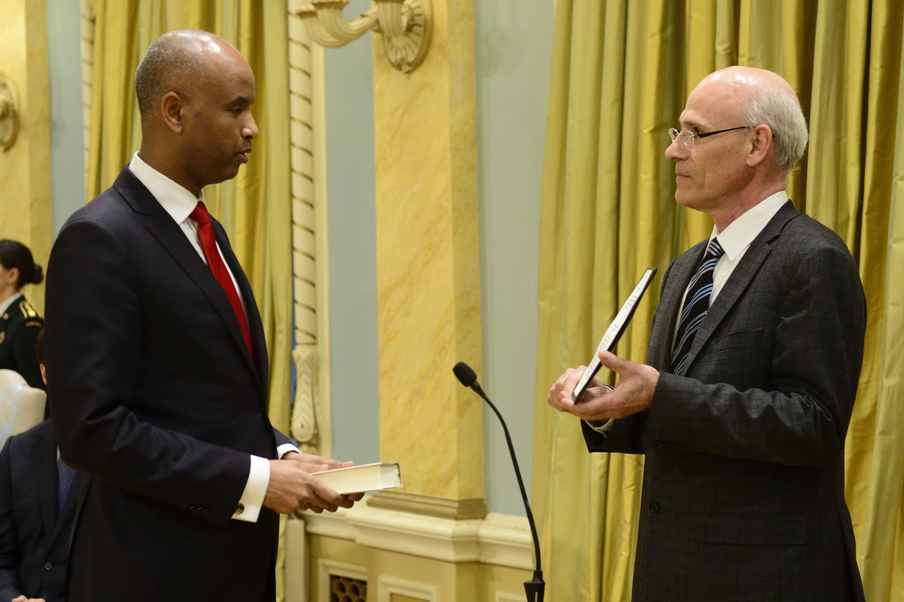 Ahmed D. Hussen became Minister of Immigration, Refugees and Citizenship.
