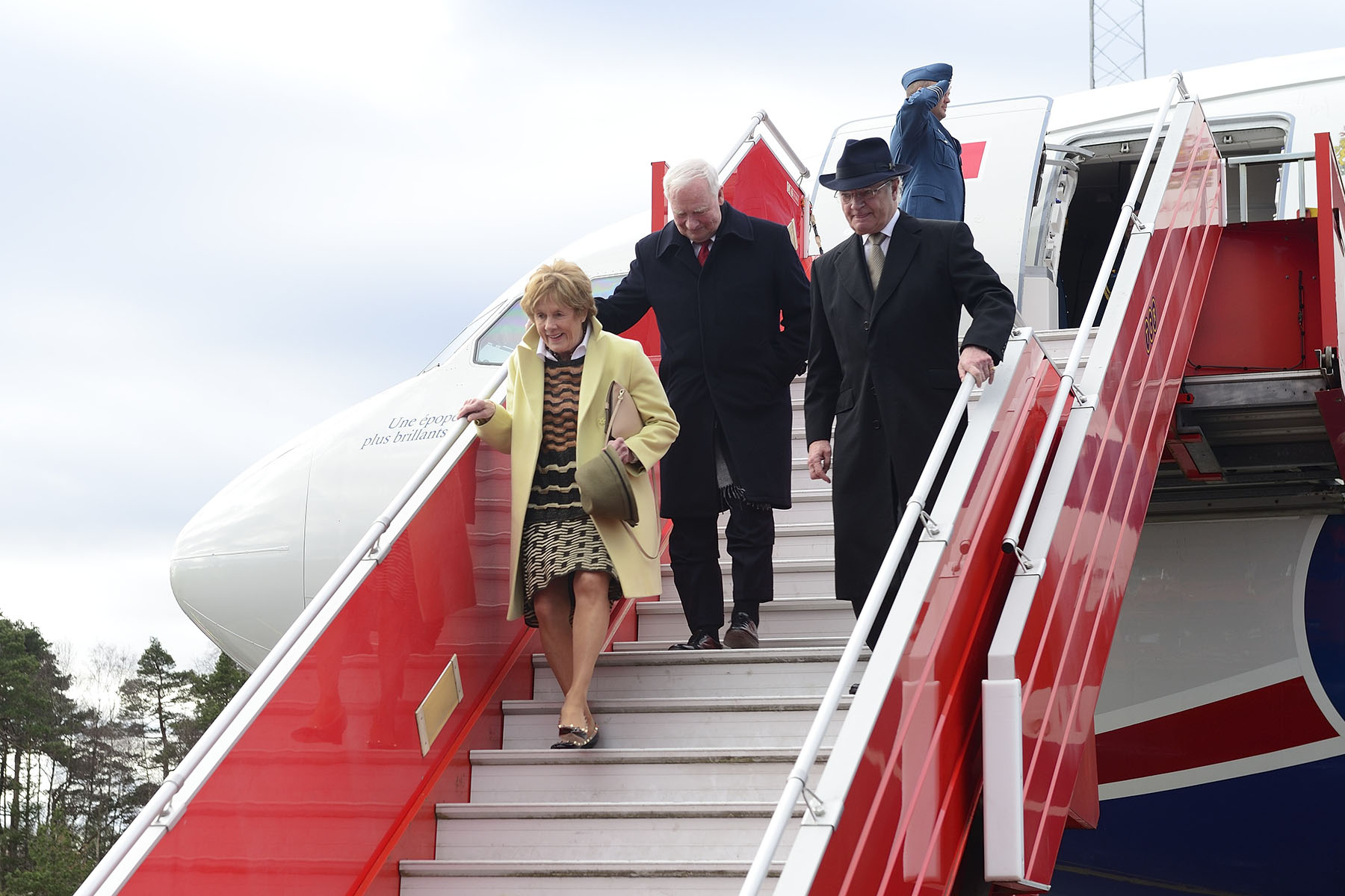 On the fourth day of the State visit to Sweden, Their Excellencies and Canadian delegates travelled to Gothenburg.