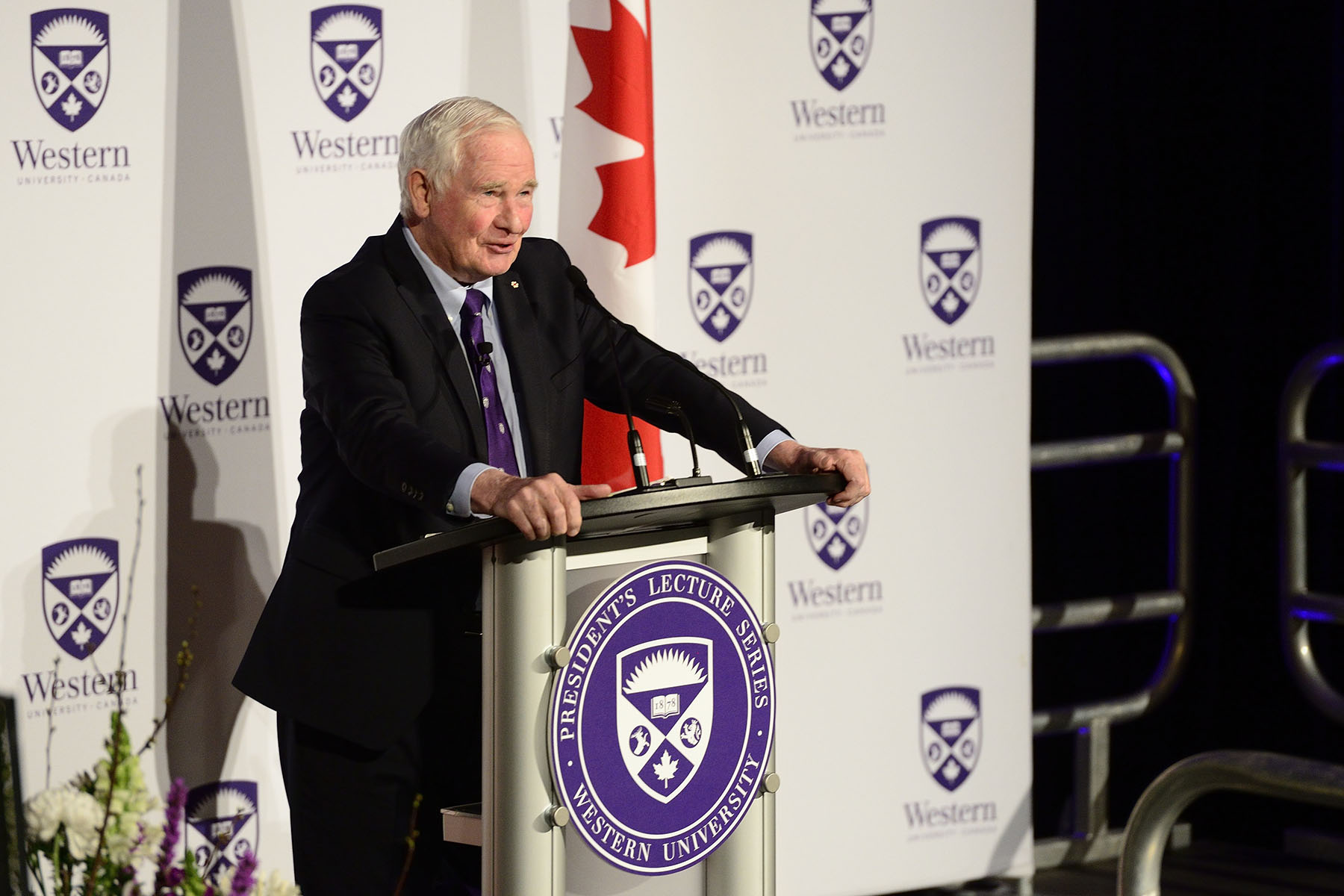 """Whether you're in business or law or education or government or media, think about trust, the glue that holds us together, and make trust building a central part of what you do, "" said the Governor General."
