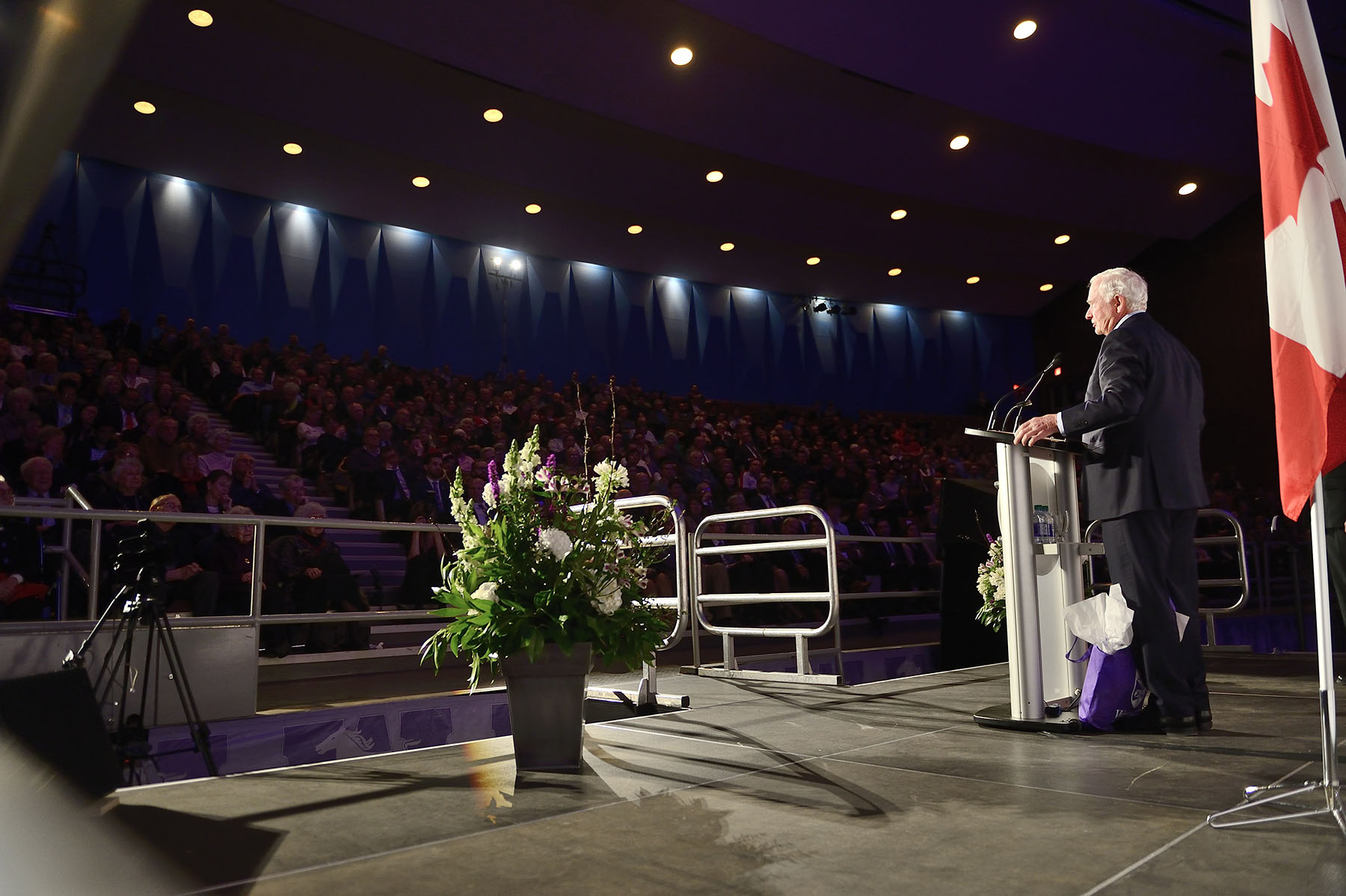 Their Excellencies attended the President's Lecture Series where the Governor General delivered a keynote address on the theme of trust, specifically how professionals, educators and citizens can reinforce trust and strengthen the social contract in Canada.
