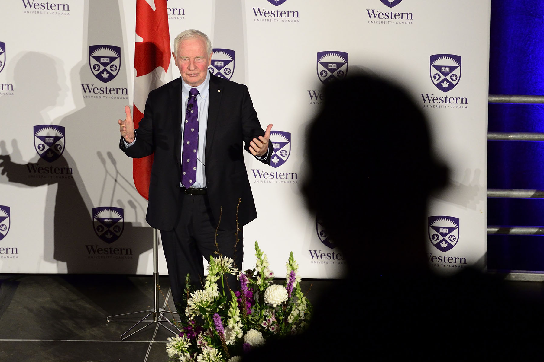 Established and hosted by Western University's president and vice-chancellor, Mr. Amit Chakma, the President's Lecture Series showcases personalities of national and international prominence from the realms of academia, politics, civil service, business and the arts as a means to engage the campus and broader community in meaningful public discourse on a wide range of important topics.