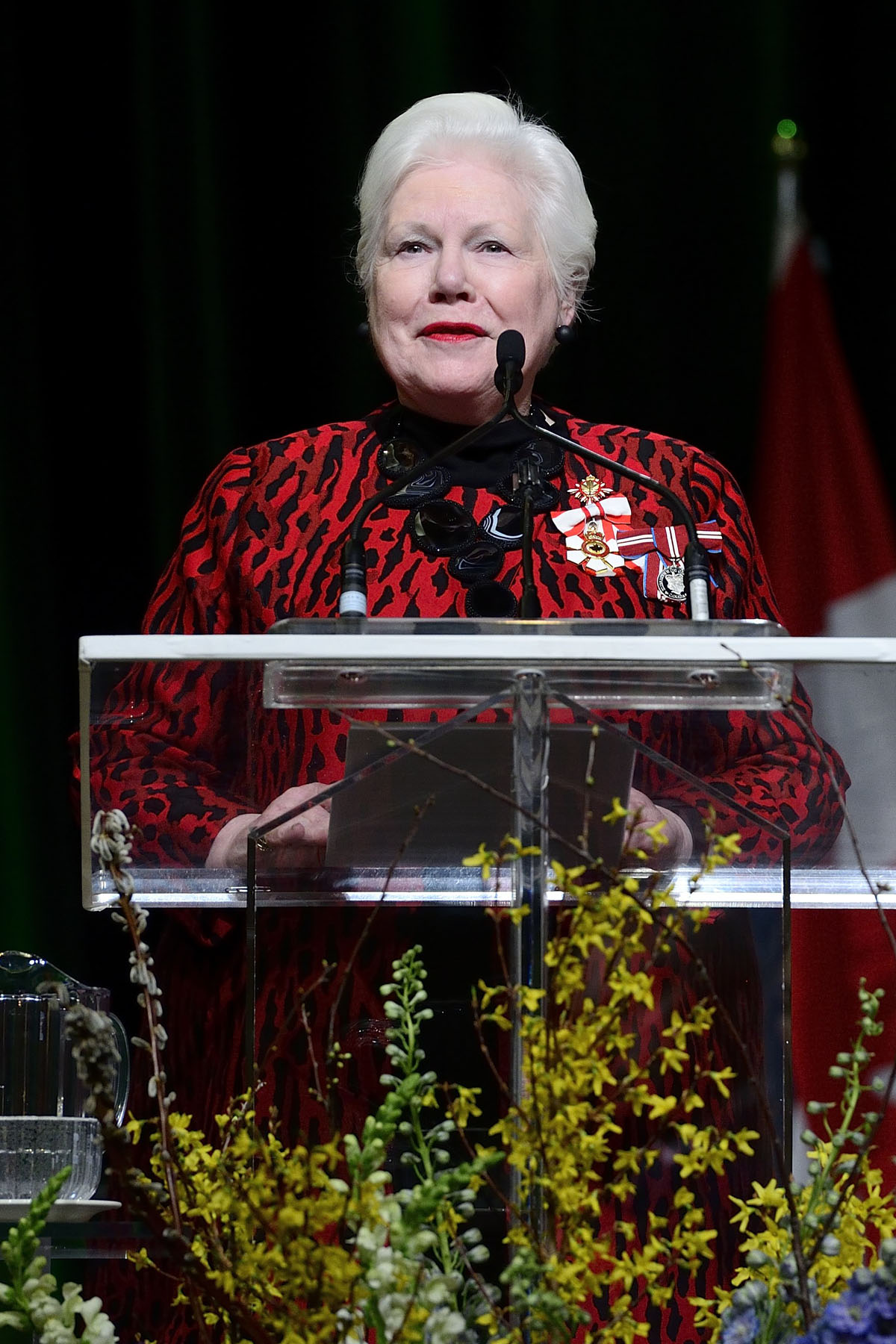 Her Honour the Honourable Elizabeth Dowdeswell, O.C., O.Ont., Lieutenant Governor of Ontario, offered welcoming remarks.