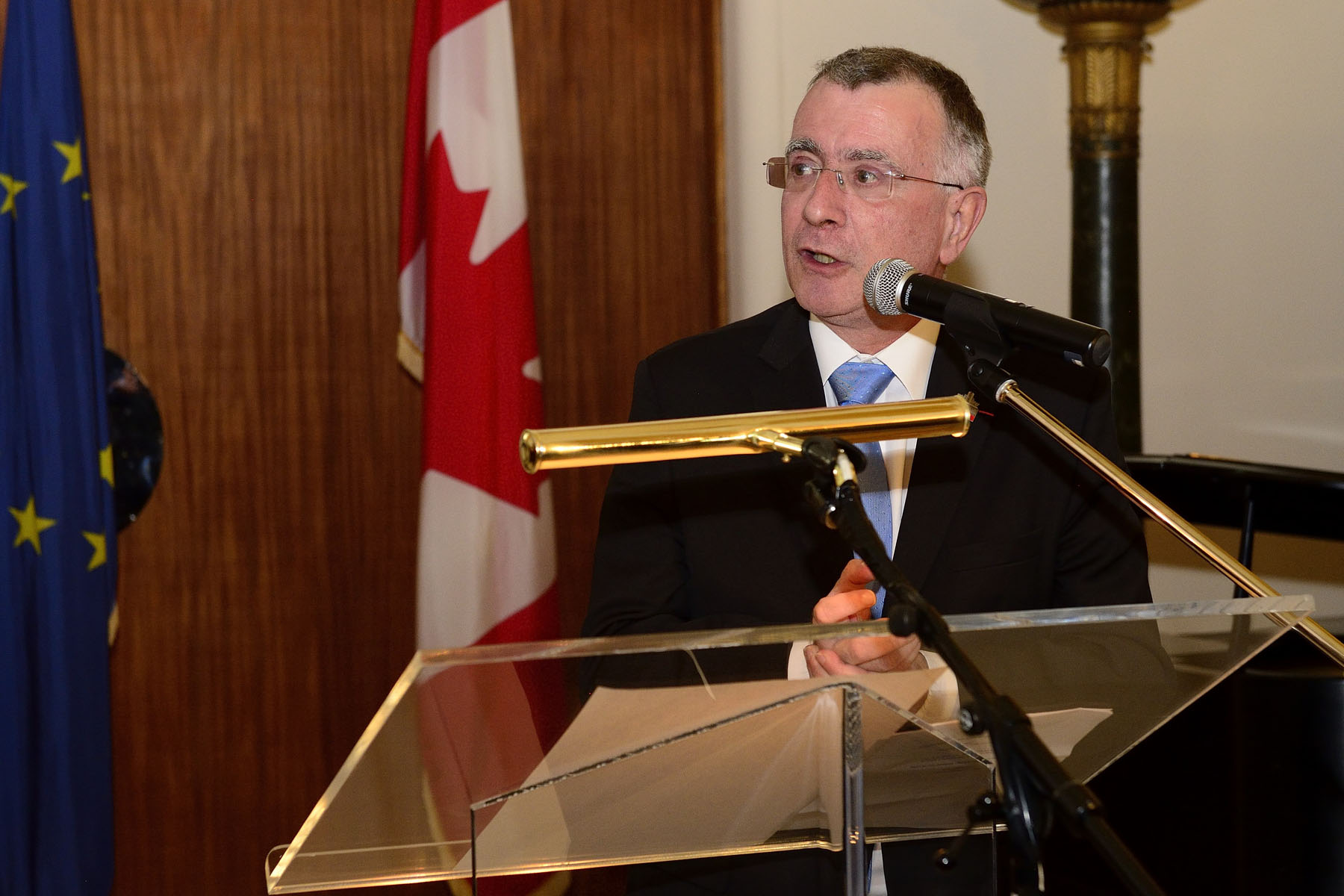 His Excellency Nicolas Chapuis, Ambassador of France to Canada, said welcoming remarks.