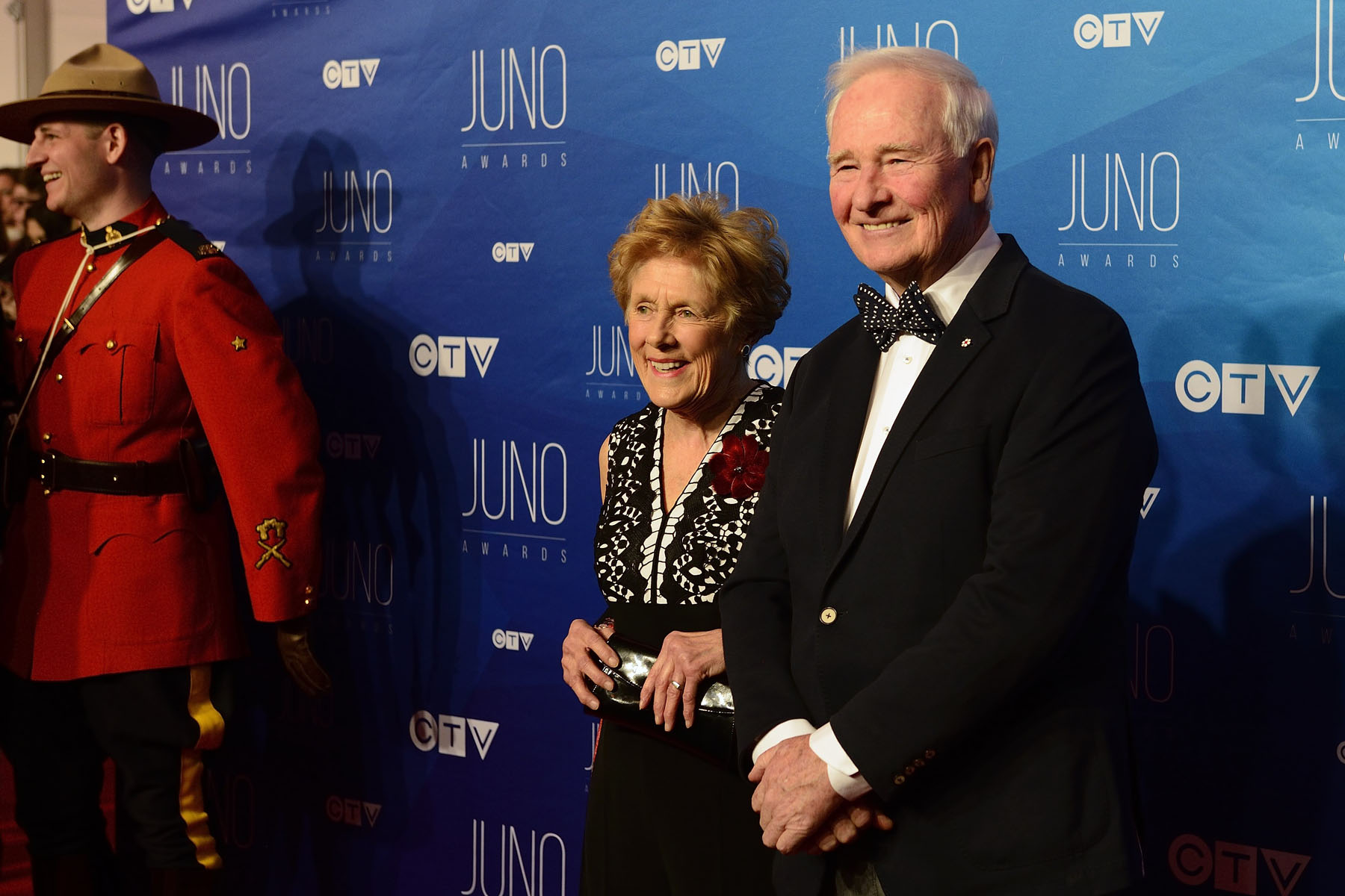Their Excellencies posed for a photo before walking the Red Carpet at the 2017 JUNO Awards.