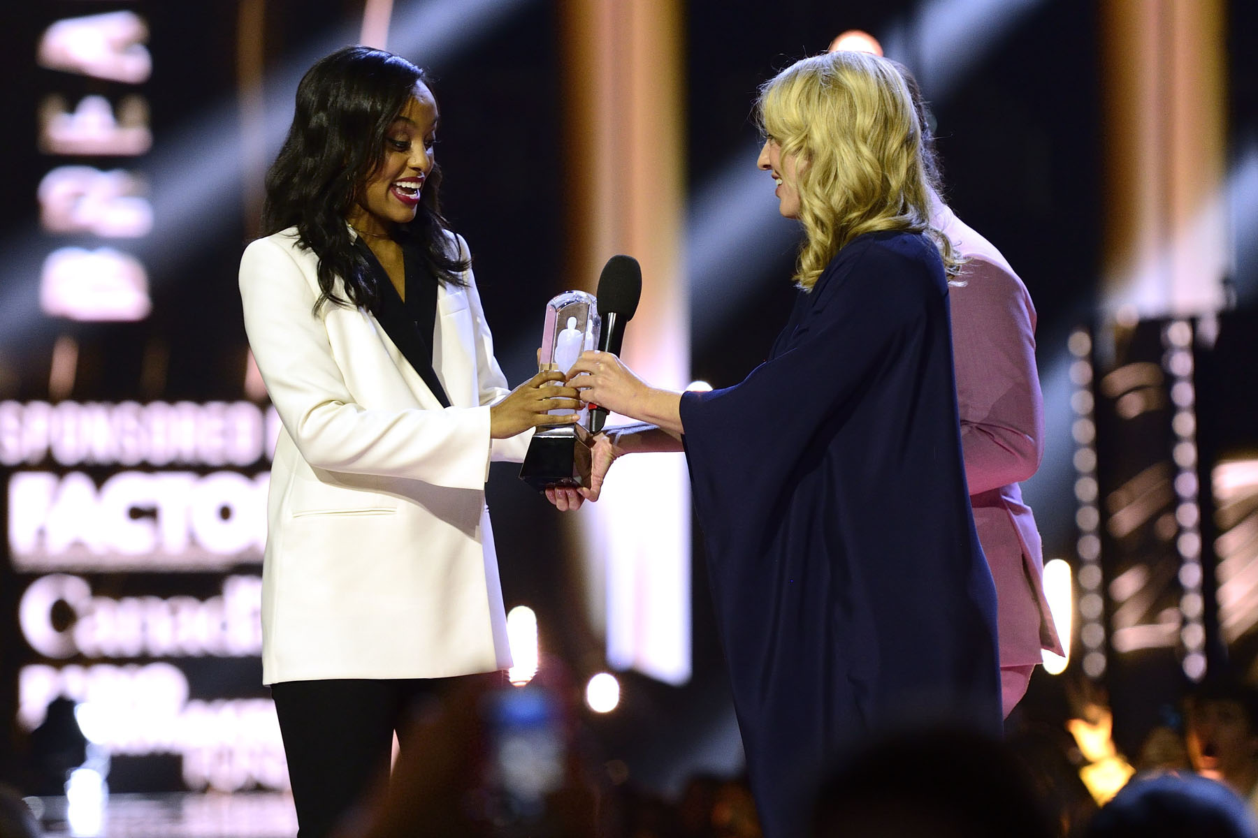 Edmonton native Ruth B. won her first JUNO Award for Breakthrough Artist of the Year.