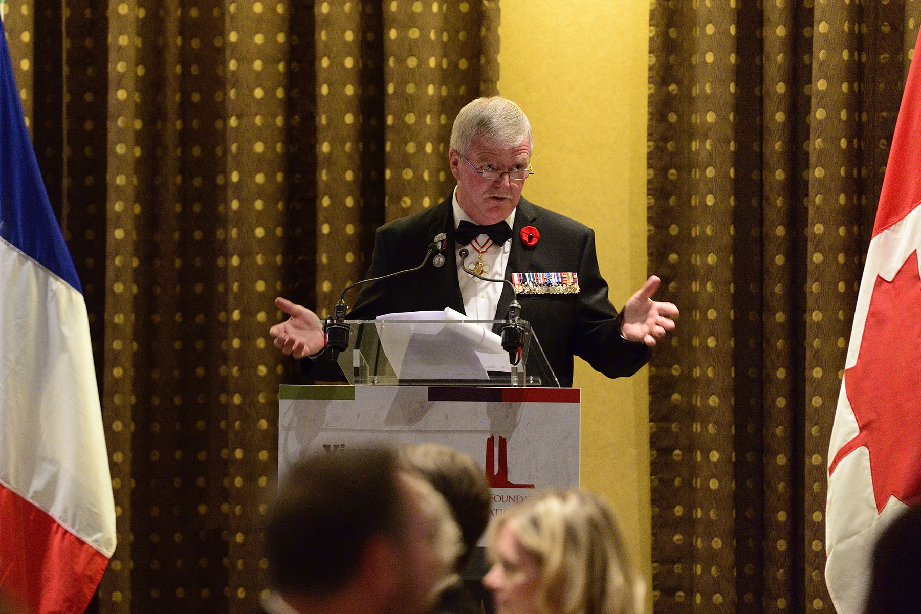 General Rick Hillier, former Chief of the Defence Staff, also delivered remarks on this occasion.