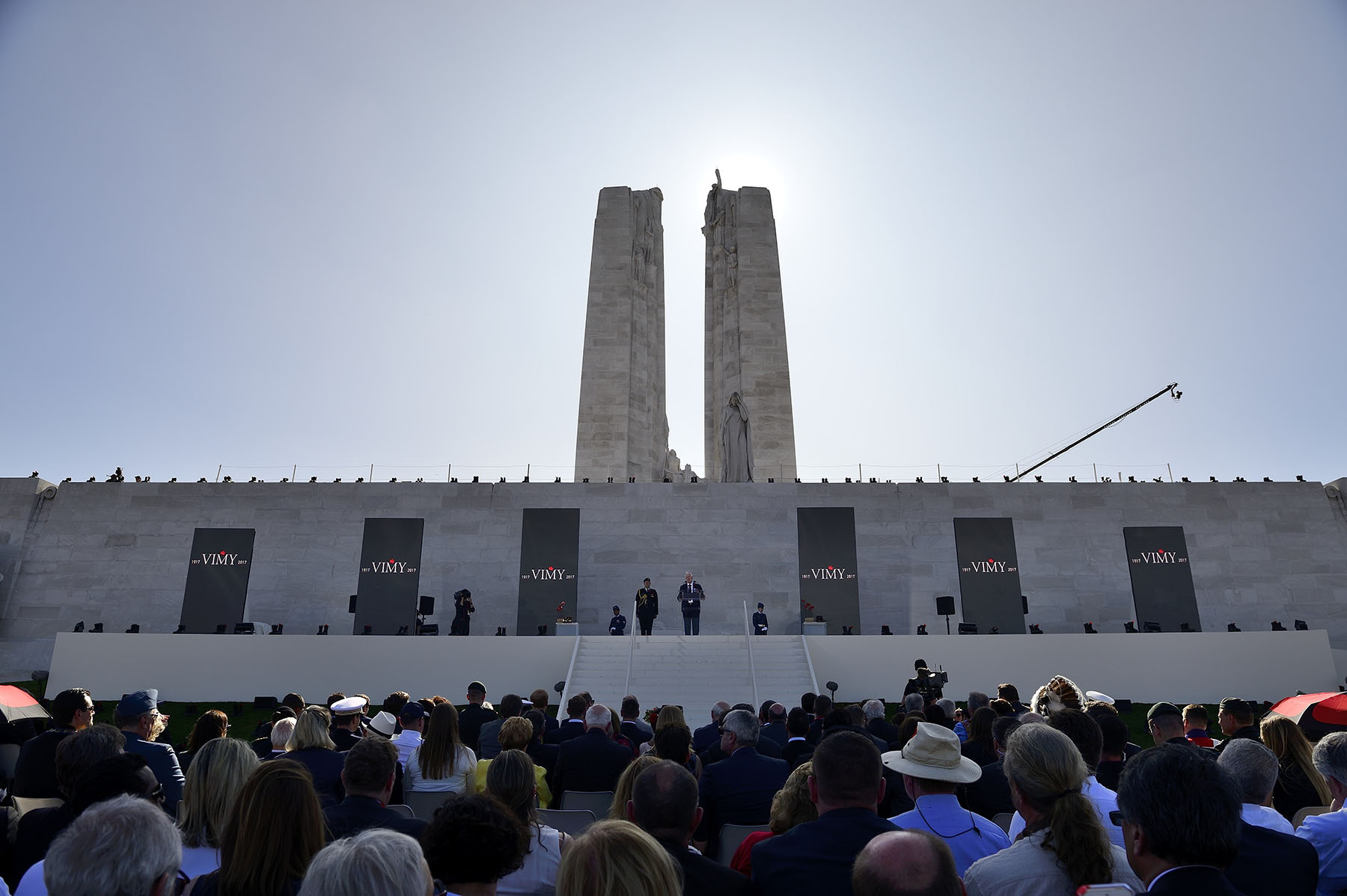 Their Excellencies attended the ceremony commemorating the 100th anniversary of the Battle of Vimy Ridge at the Canadian National Vimy Memorial.