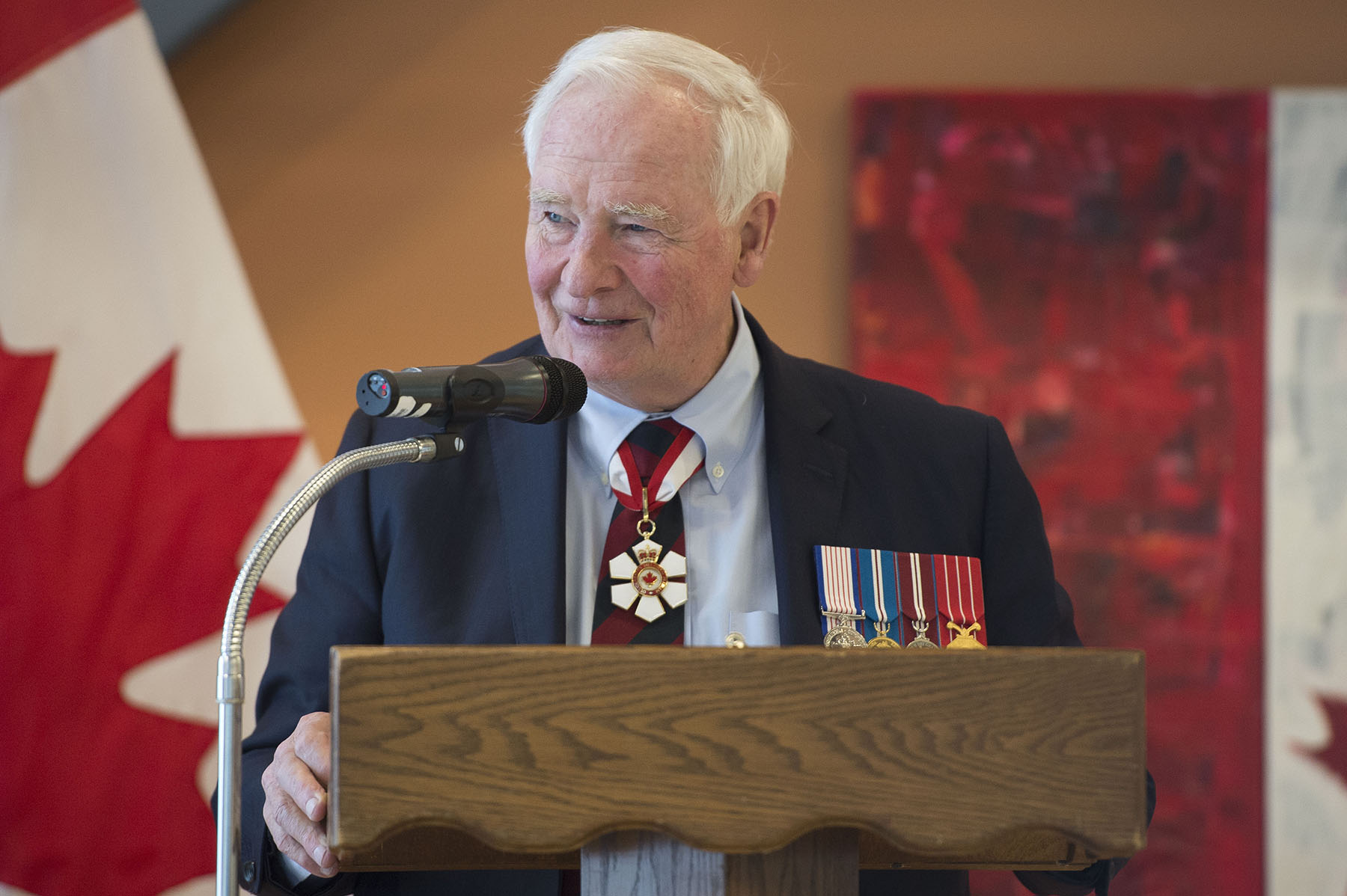 During the Perley and Rideau Veterans' Health Centre Foundation's Annual Donor Reception, the Governor General delivered remarks to celebrate the generosity of the Centre's volunteers, caregivers and donors.