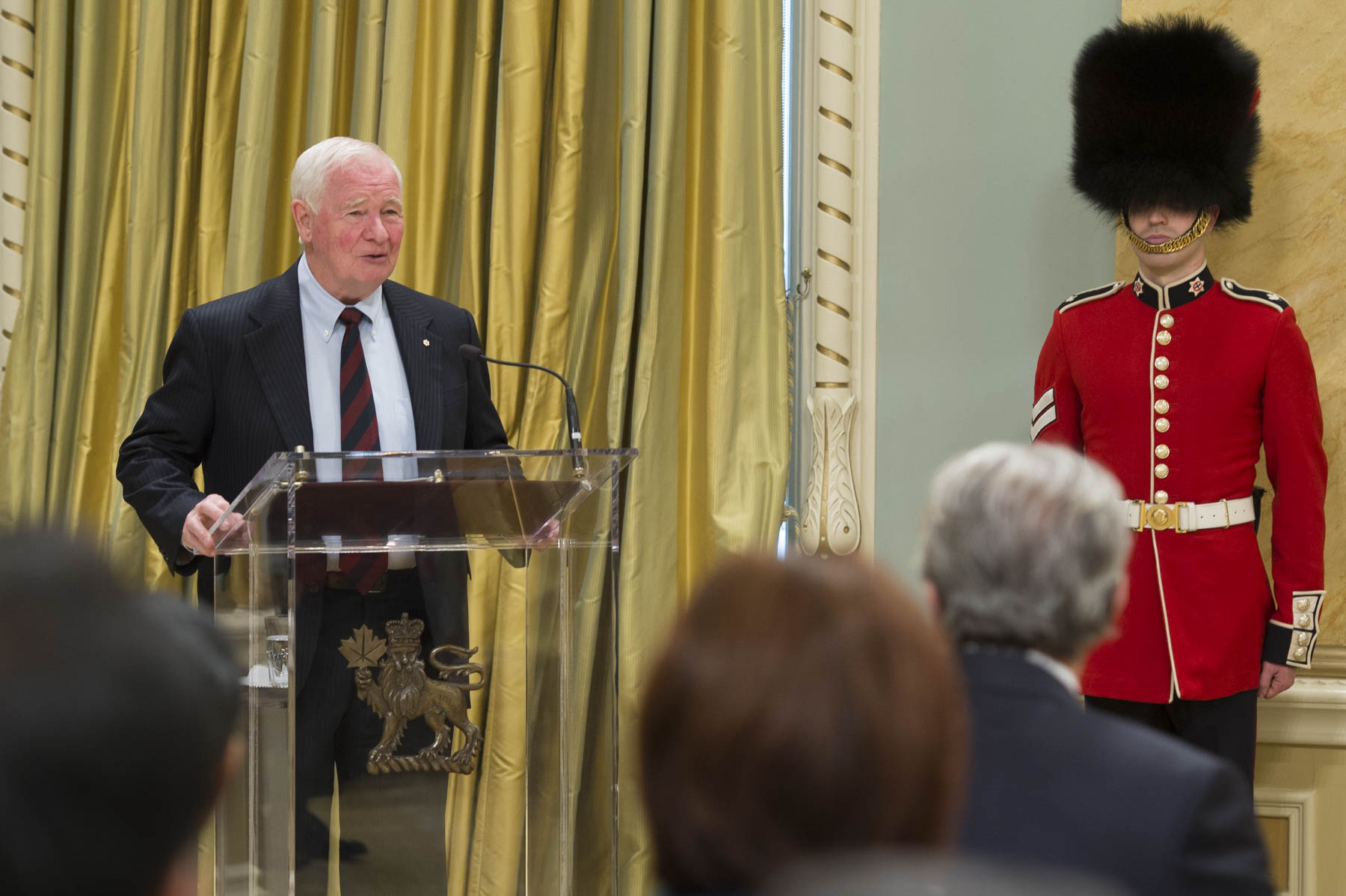 """Diplomacy is of great importance in this complex, interconnected world.  At its best, diplomacy brings people together. It bridges differences. It builds on the strengths of nations, rather than dividing by weaknesses,"" said the Governor General."