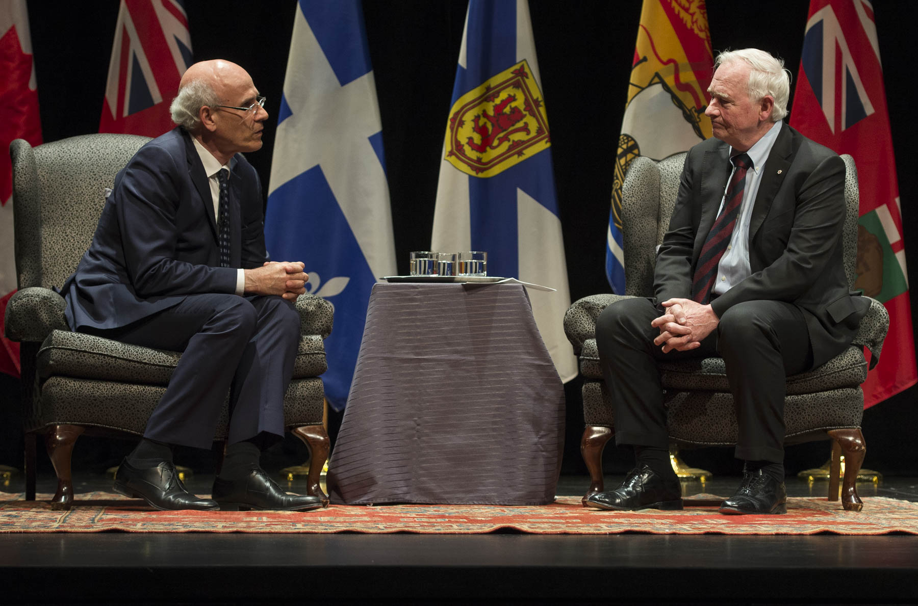Afterwards, His Excellency and Michael Wernick, Clerk of the Privy Council and Secretary to the Cabinet Privy Council Office had an on-stage conversation.