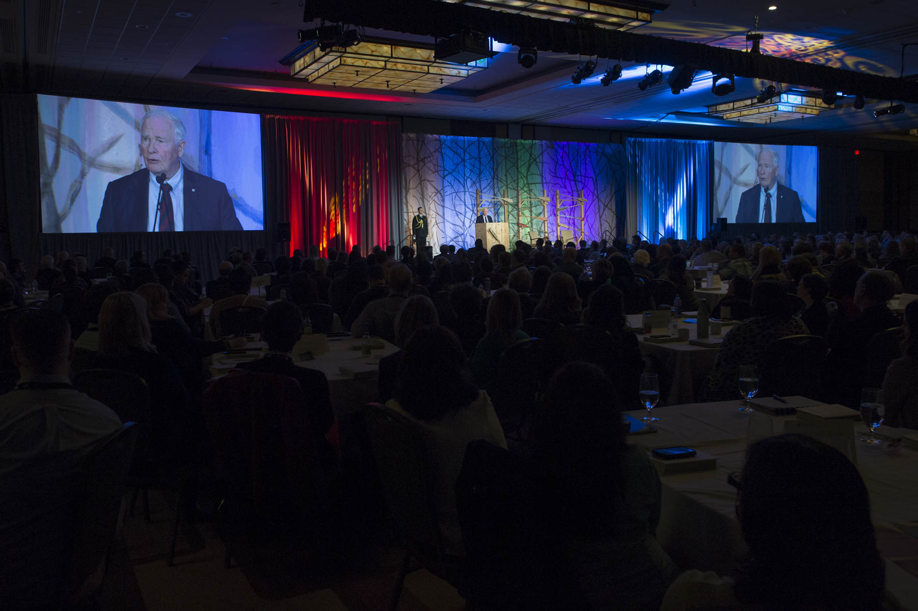 The theme of this year's conference is Belonging. On this occasion, the Governor General spoke about inclusiveness and how it relates to the work being done by community foundations across the country.