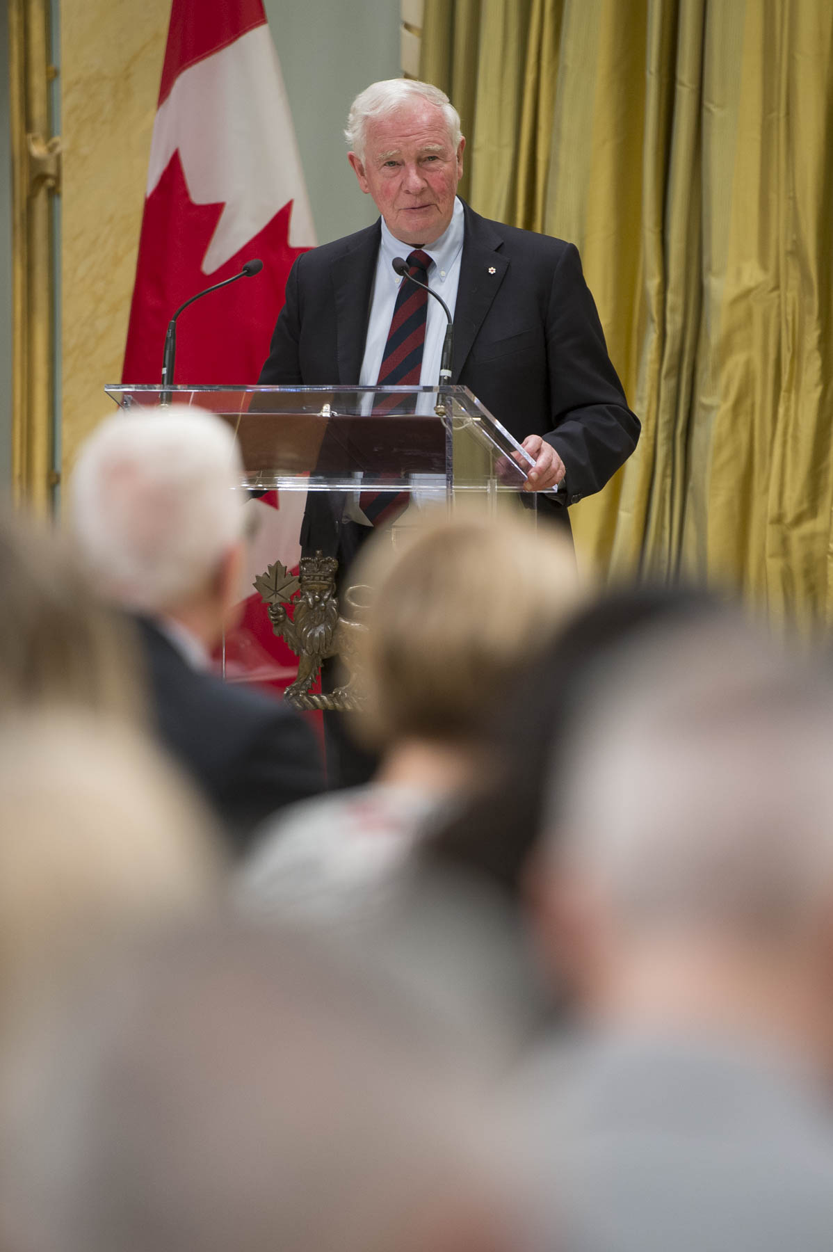 """The work you do is not only cutting edge, but also internationally recognized. You're helping people around the world, and at the same time putting Canada on the map. Each of you has demonstrated an outstanding commitment to excellence and to teamwork, two essential elements in our overall success,"" said the Governor General."