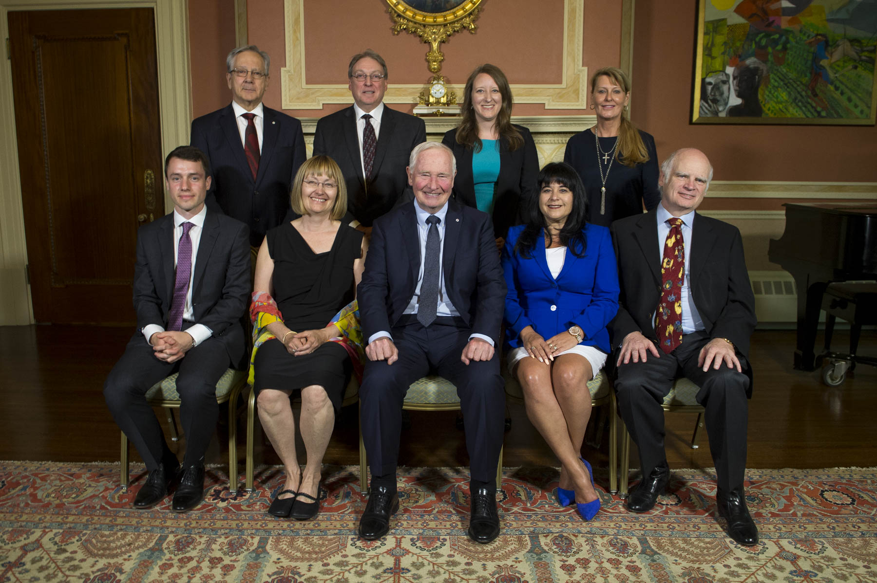 Winners are selected through a two-stage, merit-based selection process. The selection process is managed by the Canada Foundation for Innovation while the execution of all aspects of the program is overseen by the Office of the Secretary to the Governor General, working in close collaboration with the Rideau Hall Foundation.