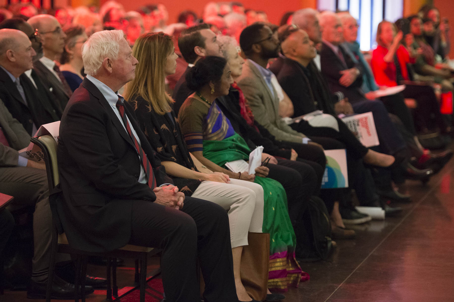 The Governor General attended the grand finale of The Walrus Talks Conversations About Canada: We Desire a Better Country national tour.