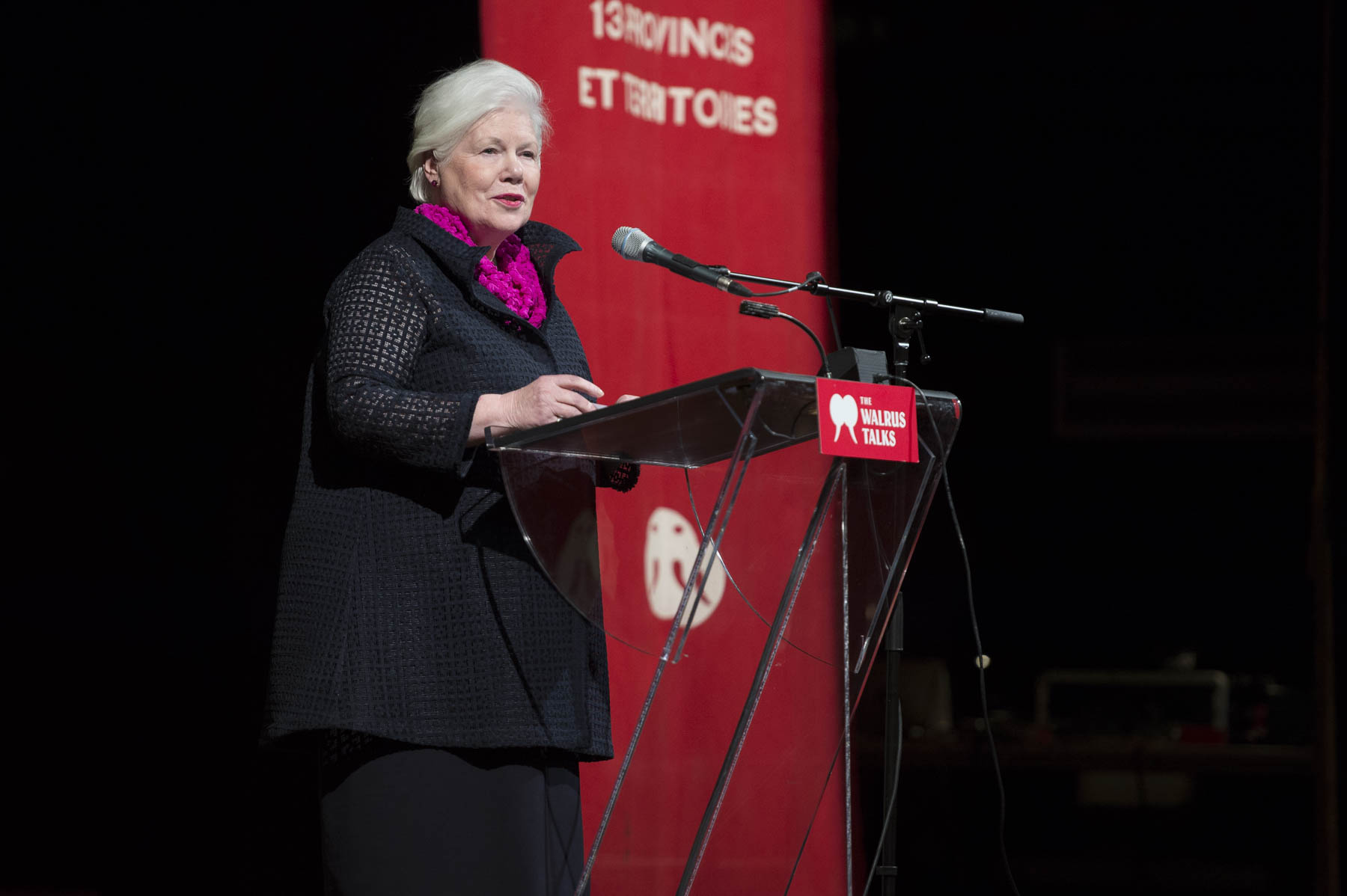 Her Honour the Honourable Elizabeth Dowdeswell, Lieutenant Governor of Ontario, offered welcoming remarks.