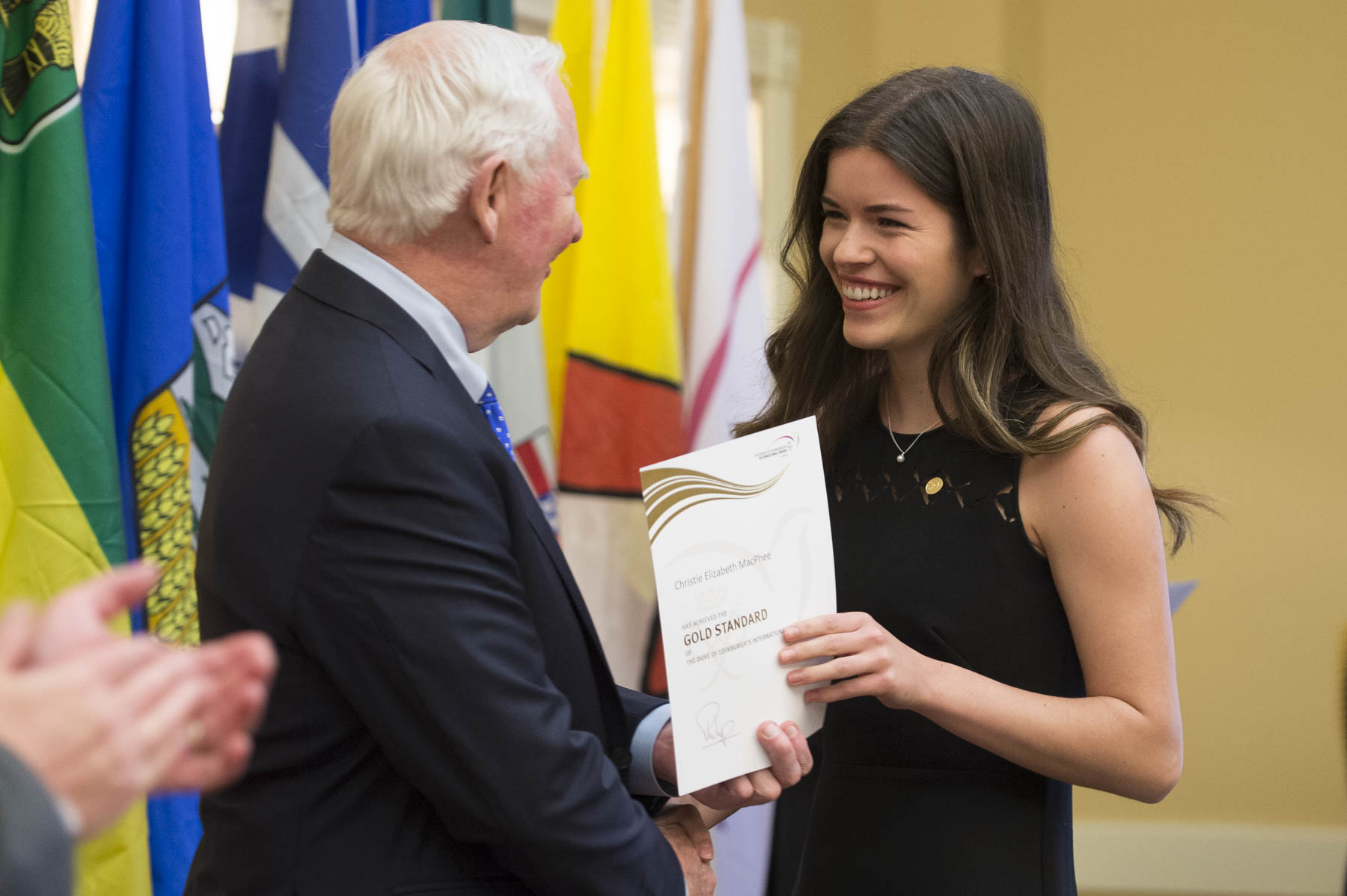 The Duke of Edinburgh's International Award is a global program whose goal is to challenge, encourage and recognize young people between the ages of 14 and 24. This unique program is designed to empower youth to utilize their passions to help them believe in their own potential.