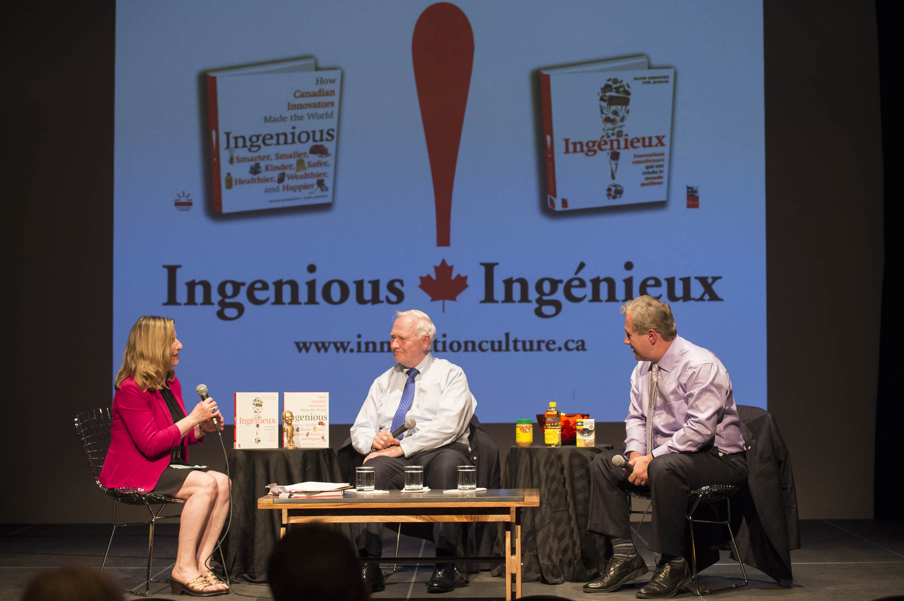 At the end of the day, His Excellency joined Mr. Tom Jenkins, Chair and former CEO of OpenText and Chair of the National Research Council, at an event presented by the Frye Festival where they discussed their recently published book, Ingenious.