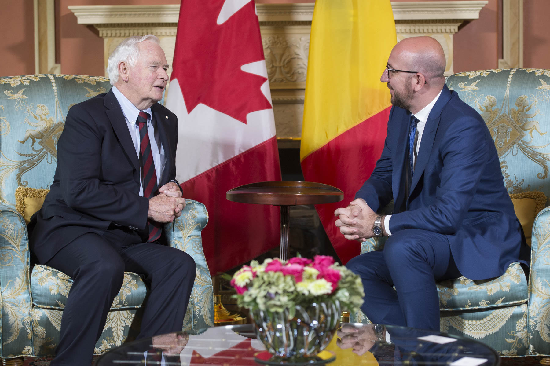 Prime Minister Michel is visiting Canada from June 14 to 17, 2017.
