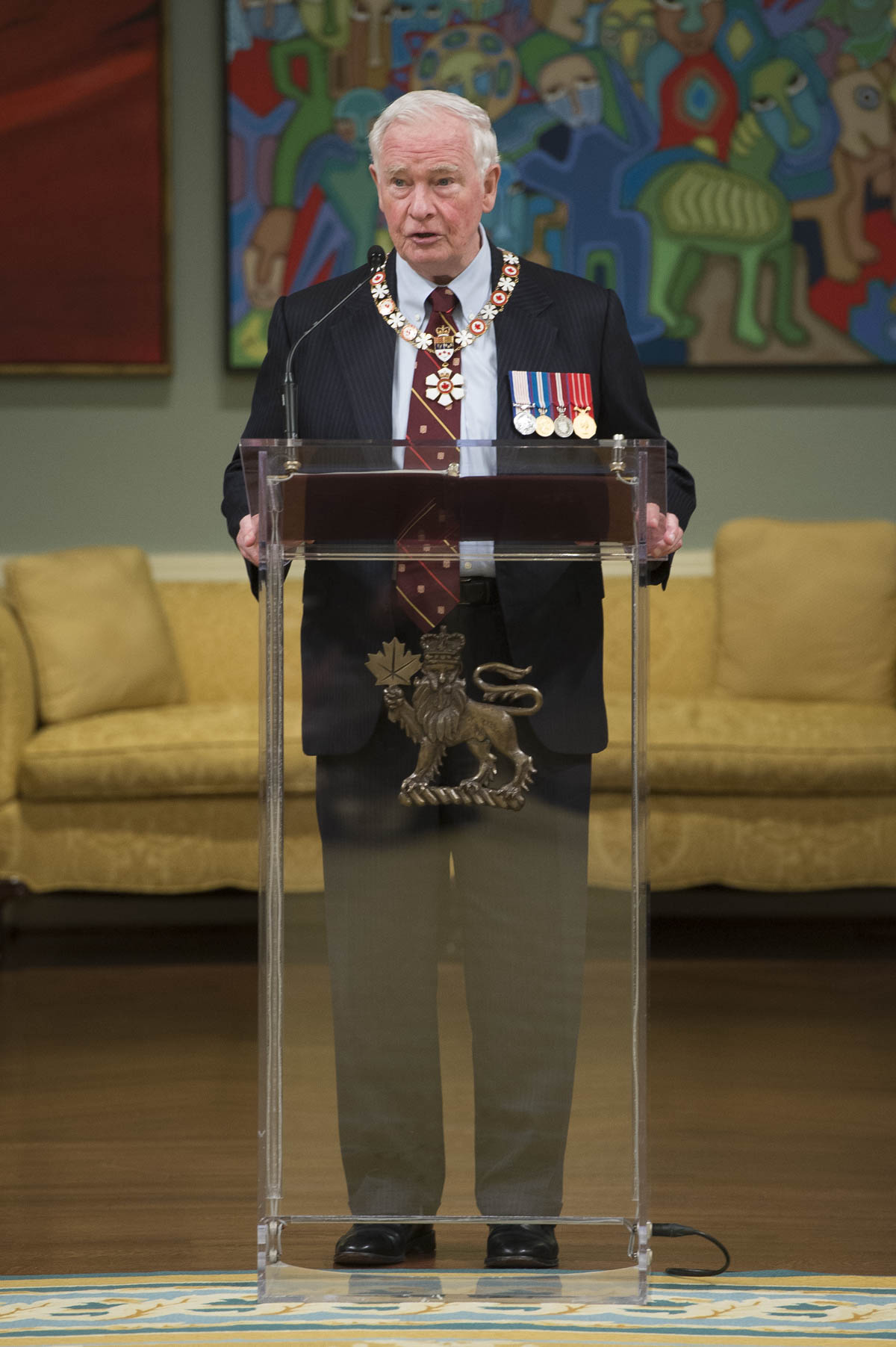 """We gather to raise awareness of Indigenous histories, cultures, achievements and concerns, and to create an environment in which reconciliation is possible,"" said His Excellency. ""There is so much work to be done, but today we pause to celebrate your achievements with some of this country's top honours."""