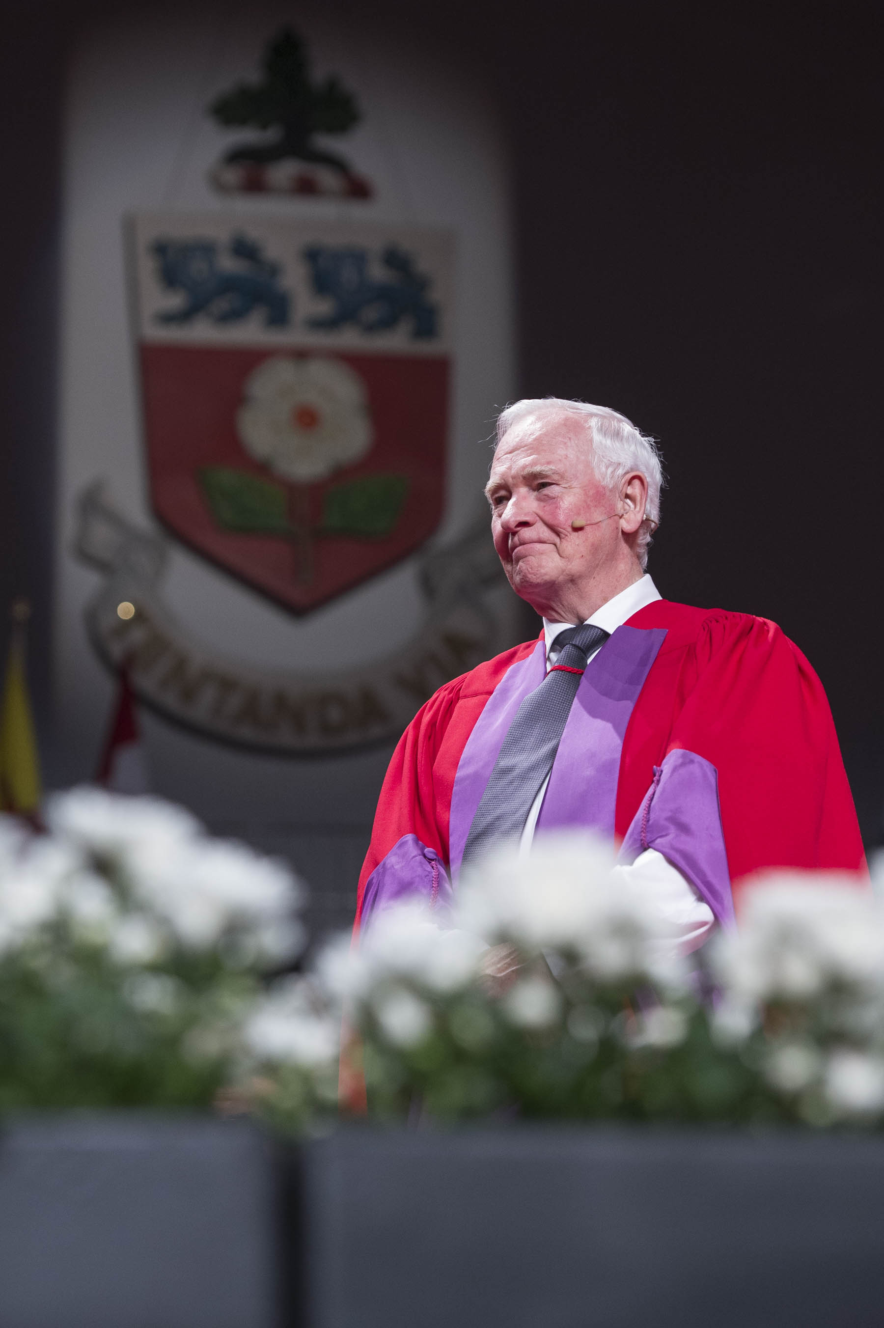 His Excellency received an honorary degree and delivered a convocation address to students graduating from the Faculty of Education at York University.