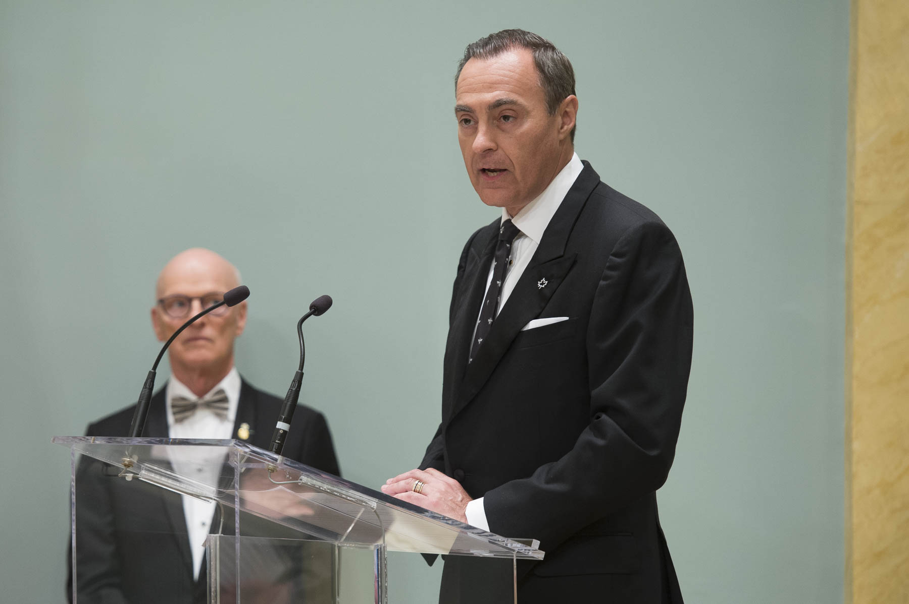 Mr. Jean-Christophe Bédos, President and Chief Executive Officer, delivered remarks On behalf of Birks Groupe inc., the presenting partner of the awards.
