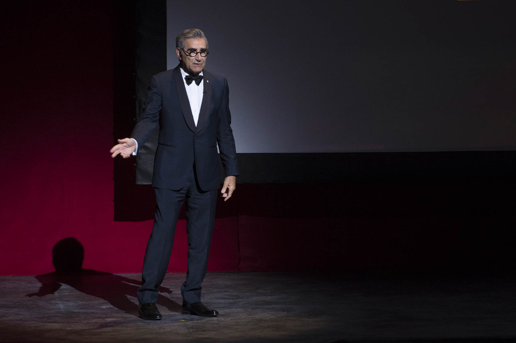 Actor and director Eugene Levy was amongst those who celebrated Martin Short.
