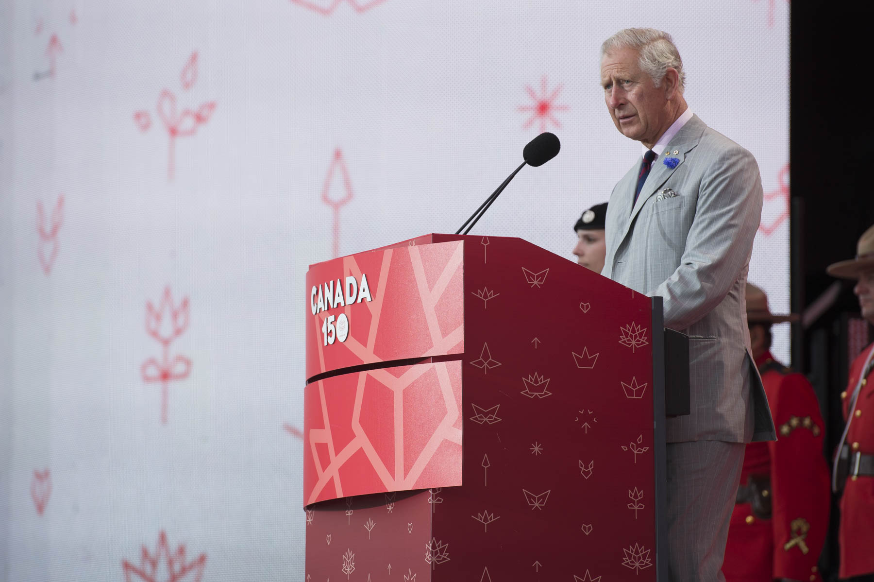 The Prince of Wales addressed Canadians on the day of our nation's sesquicentennial.