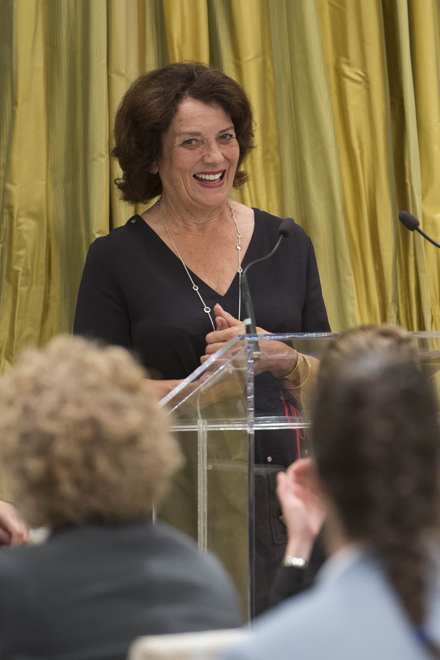 Keynote speaker and ambassador for mental health Ms. Margaret Trudeau spoke about her life journey.