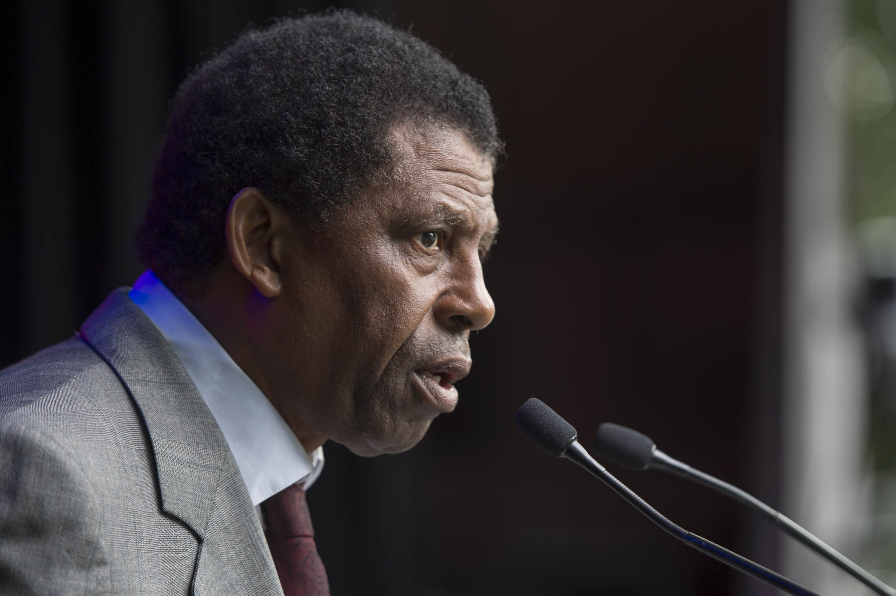 Dany Laferrière, O.C., one of the leading figures in French-Canadian literature, also shared thoughtful remarks.